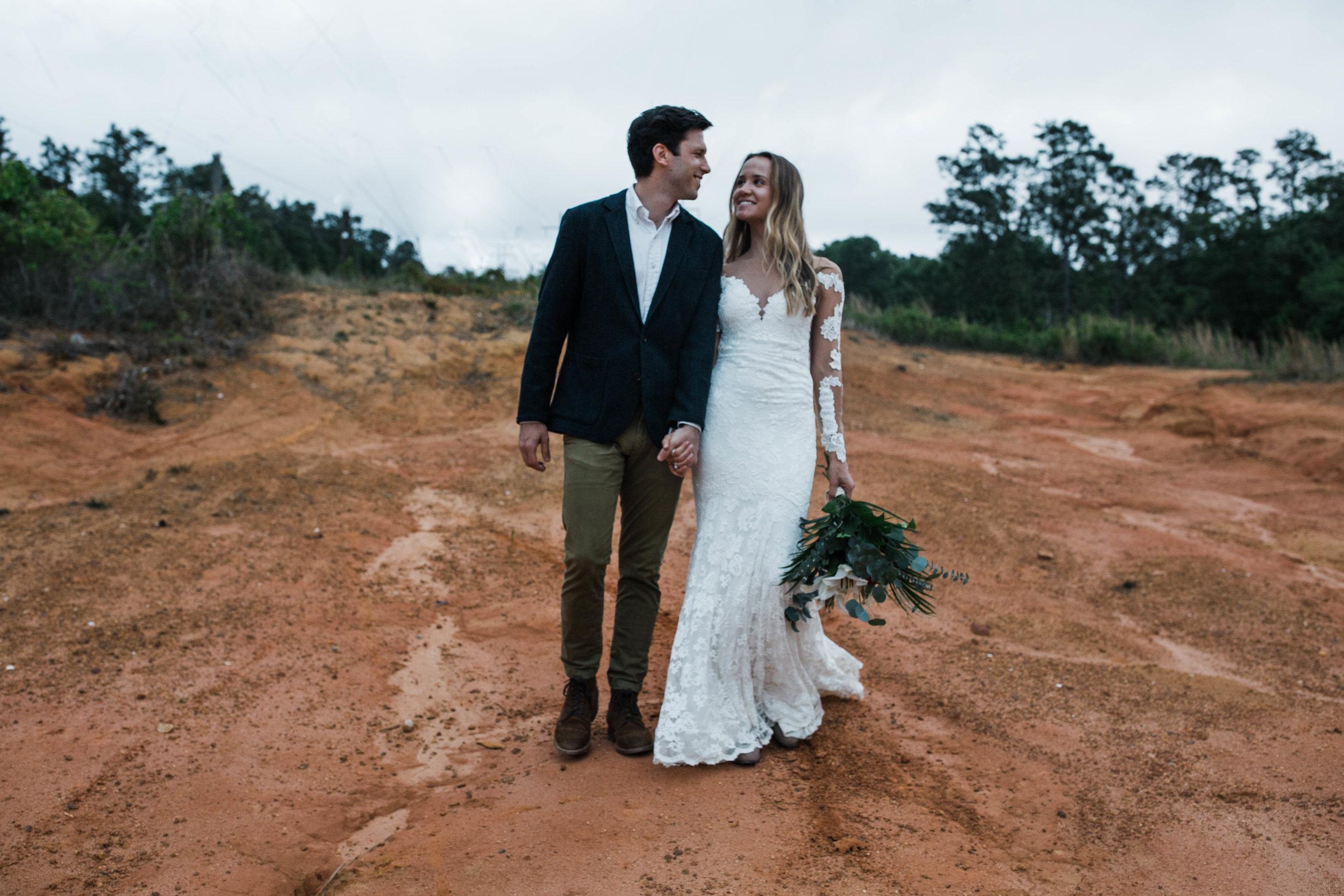 Arizona desert elopement inspried shoot