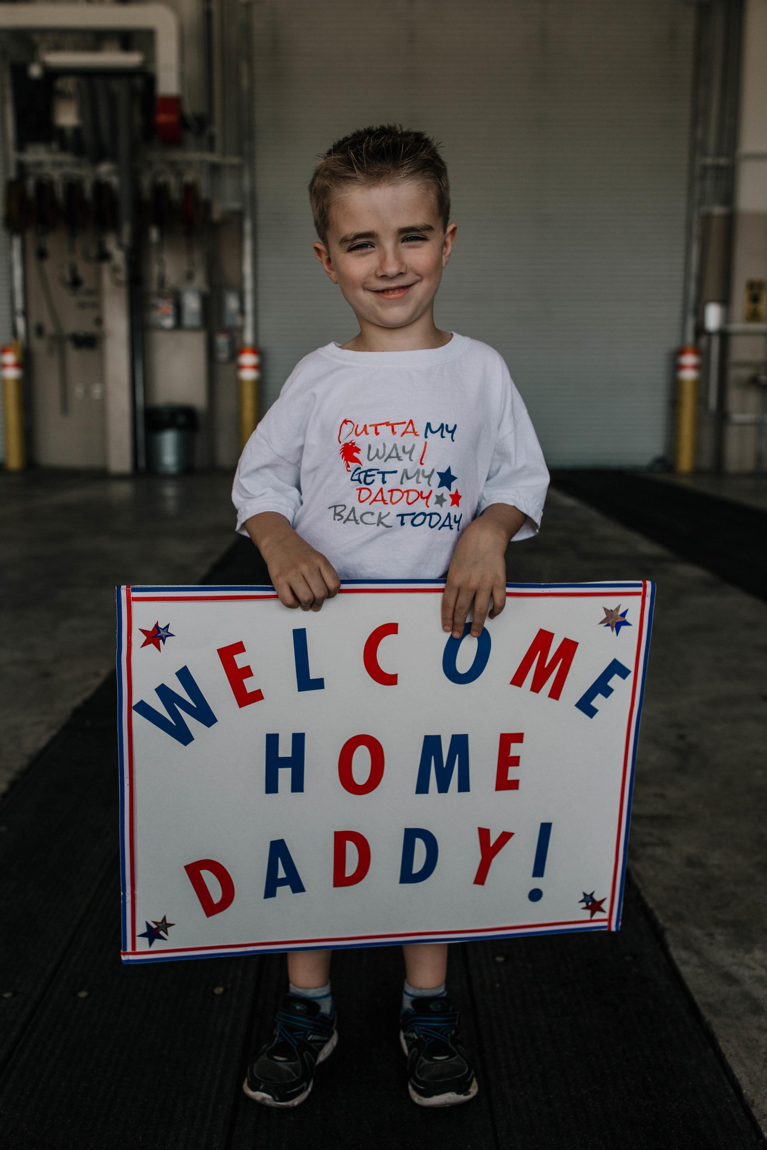 A heart felt military homecoming