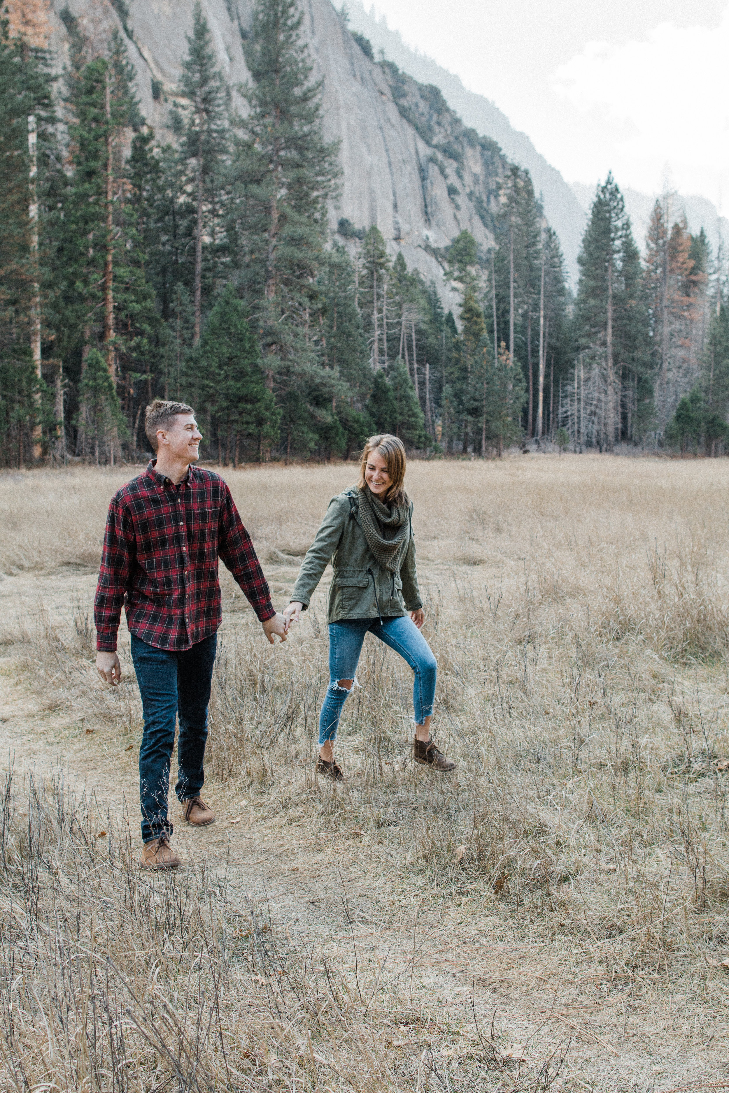 Yosemite national park engagement session | Yosemite wedding photographer | Big Sur Elopement Photographer