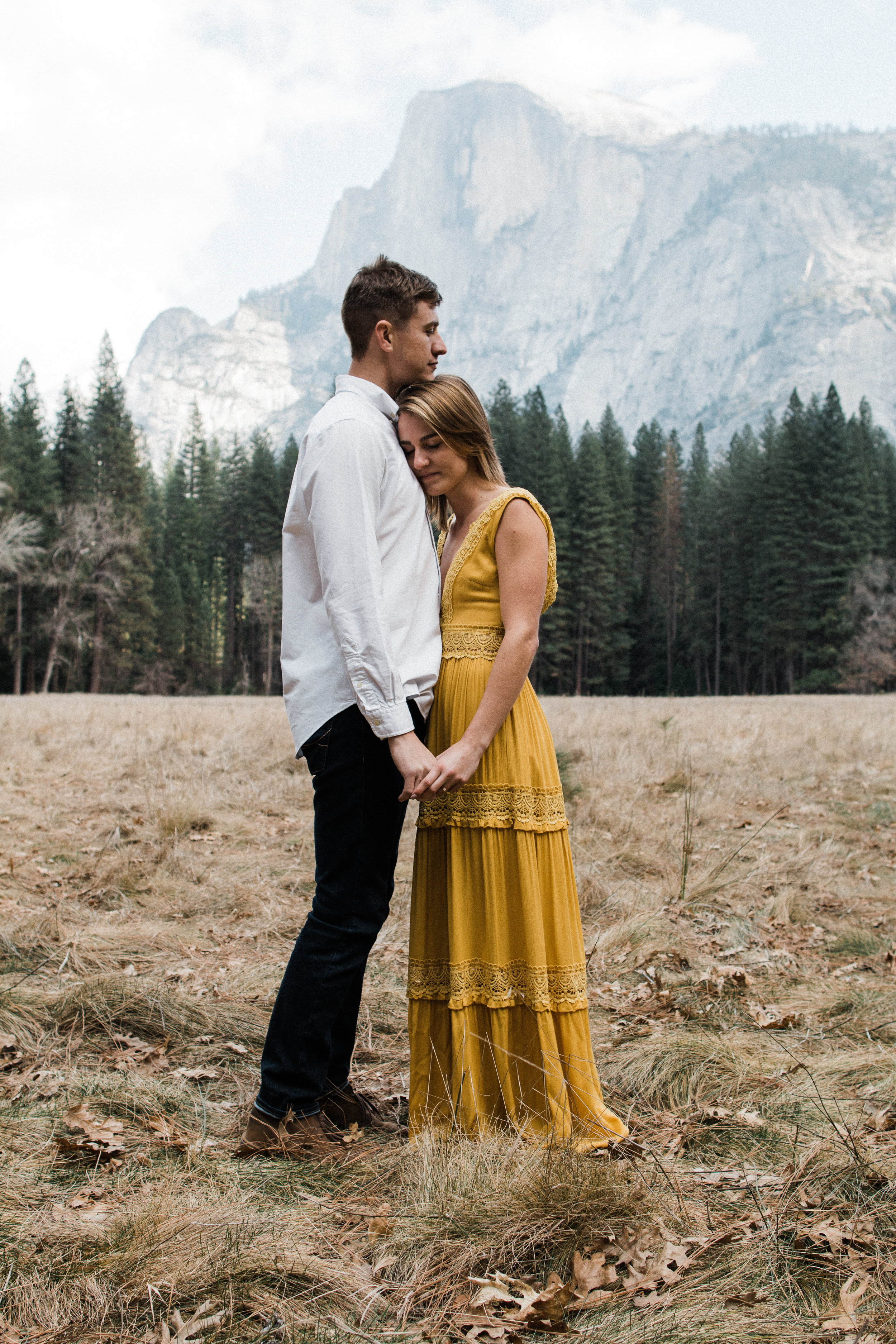Yosemite national park engagement session | Yosemite wedding photographer | Fresno wedding photographer