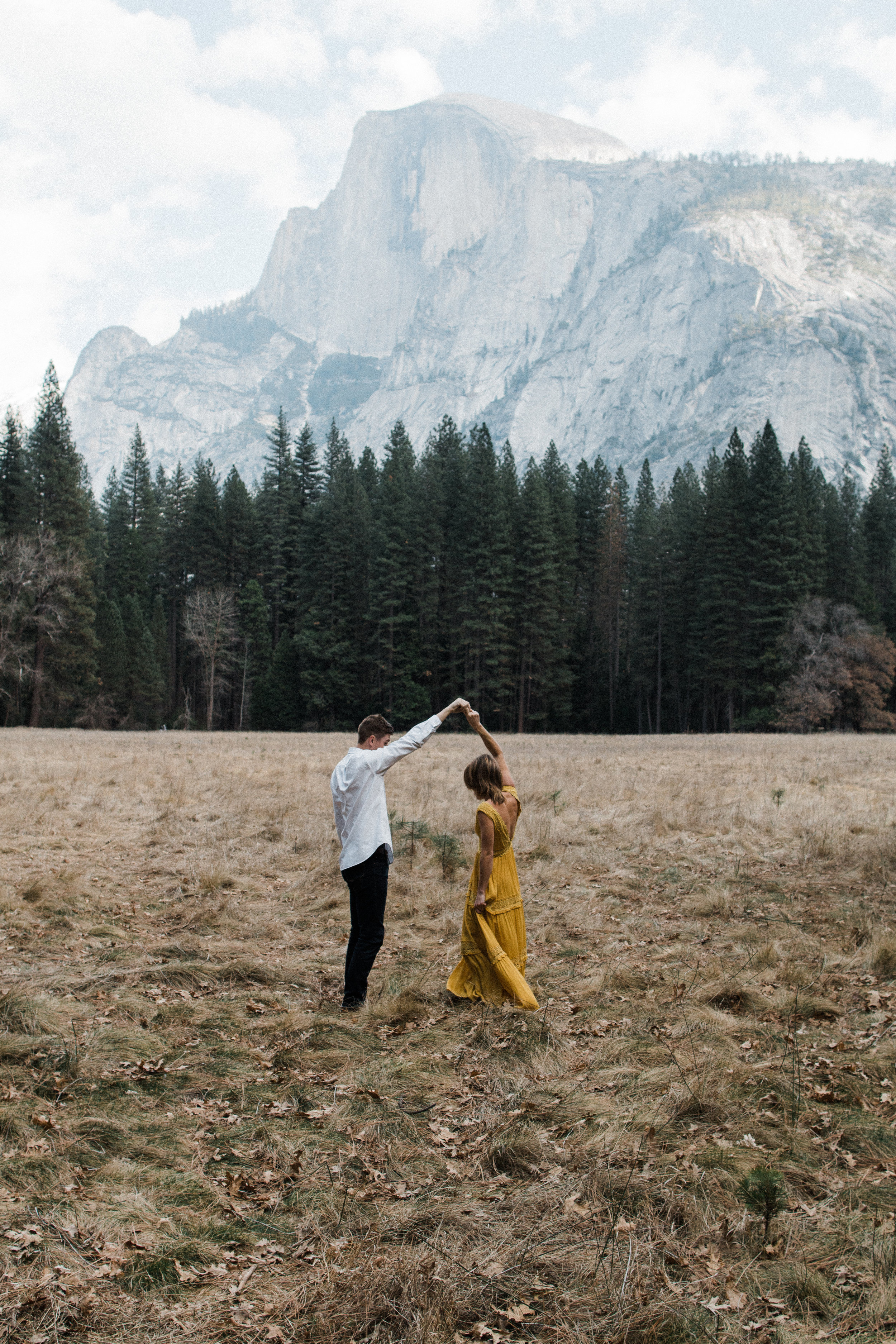 Yosemite valley engagement session | Yosemite elopement photographer | National Park wedding photographer