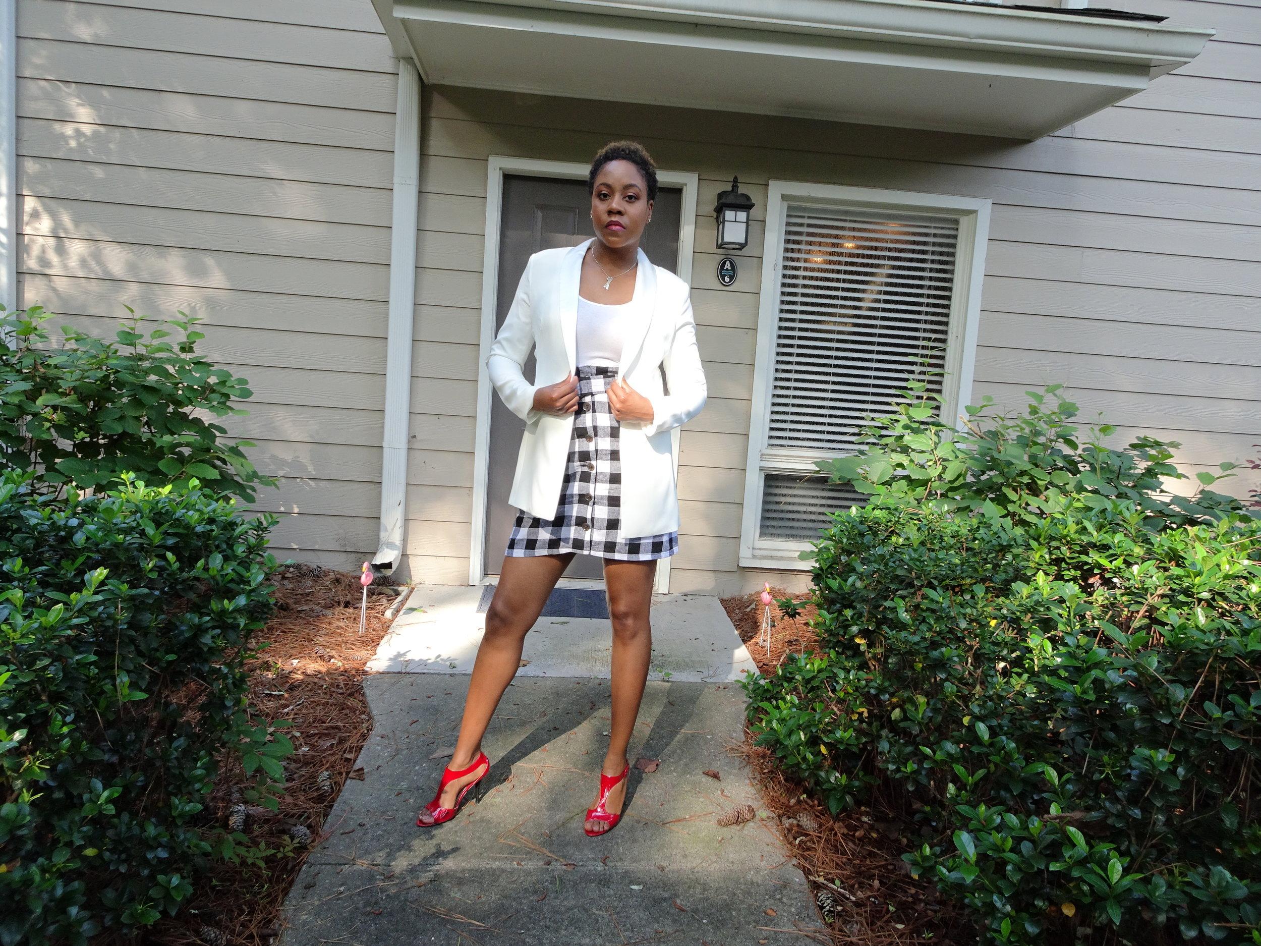 - Jacket & Skirt: AsosShoes: Bandolino (several years ago)