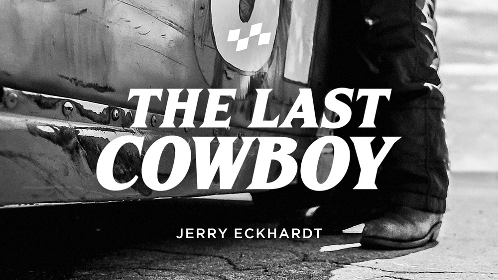 """JERRY ECKHARDT RACING  Five words of a Frank Sinatra song define Jerry Eckhardt's nearly 55 years of stock car racing, """"I did it my way"""". Jerry's """"way"""" is simple - honest ingenuity.     Watch film >"""
