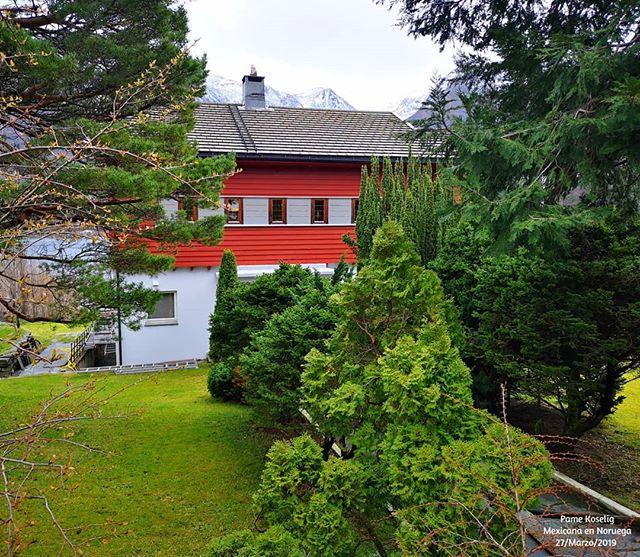 Una casa escondida ❤️ . . Estos días han estado muy ocupados, y hasta ahorita no había tenido mucho tiempo para editar o estar 100% al pendiente de redes sociales 😔 . . Pero tengo 3 videos grabados así que espero tenerlos listos pronto para poder compartirlos con ustedes 😉 . . . . . . . . . . #PameKoselig #MexicanaEnNoruega #Noruega #Norway #MittNorge #Norway2Day #LifeInNorway #MiVidaEnNoruega #MyLifeInNorway #Mexpat #Sunnmøre #MøreOgRomsdal #Nature #littmitt_nyeålesund #RedHouse #BehindTheTrees #Trees #DreamHouse #Norge #NorgeFoto #Norsk #NorskDesign #CasaRoja #BrukByenDin #Scandinavia #TheNordics