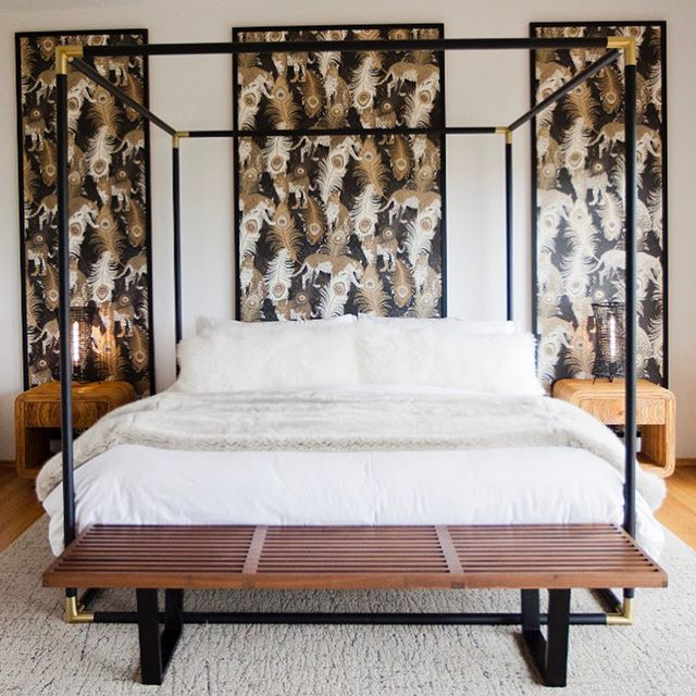 When you LOVE the idea of wallpaper...but don't want to commit✨🐆⚡️