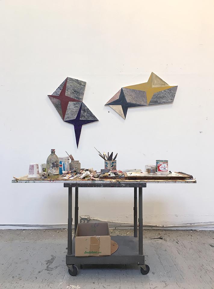 Photograph of Hermine's studio