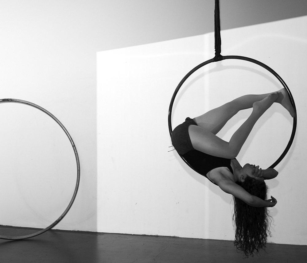 {Broken leg or beautiful hyperextension?}  Mackenzie Walker Photography