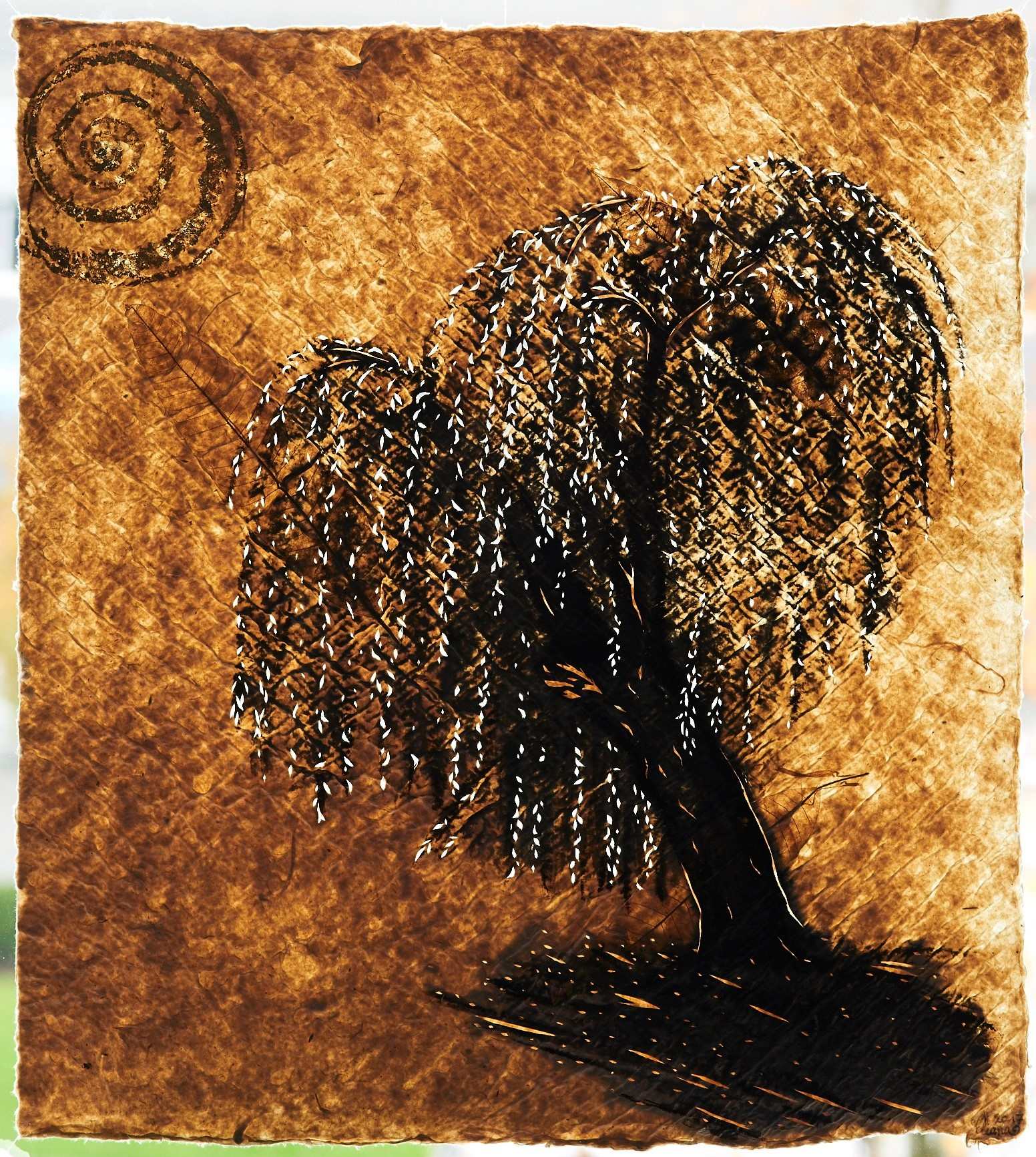 Study: Willow and Snail (Buchenwald)