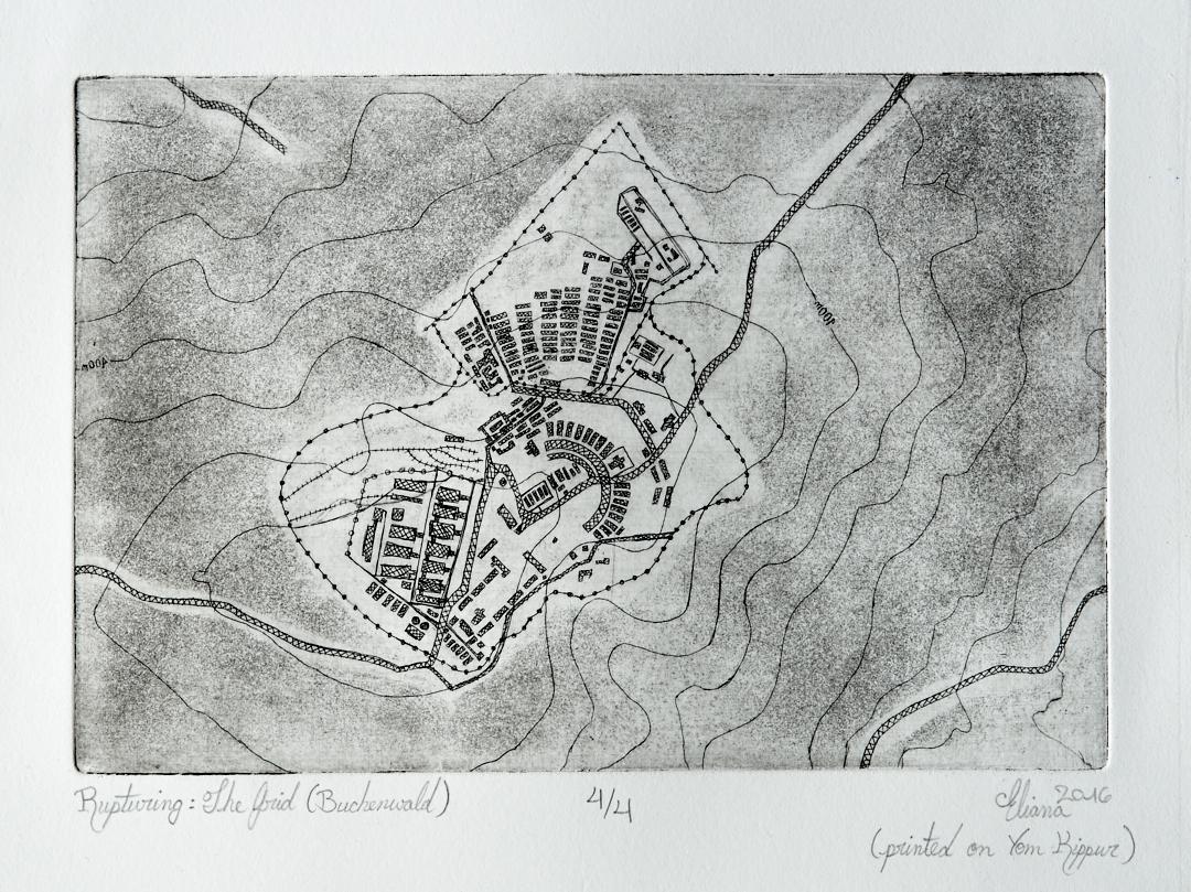 Rupturing: The Grid (Buchenwald)