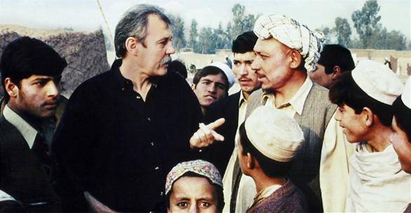 UNICEF Aid Programme, Jallozai Afghan Refugee Camp, February 2002