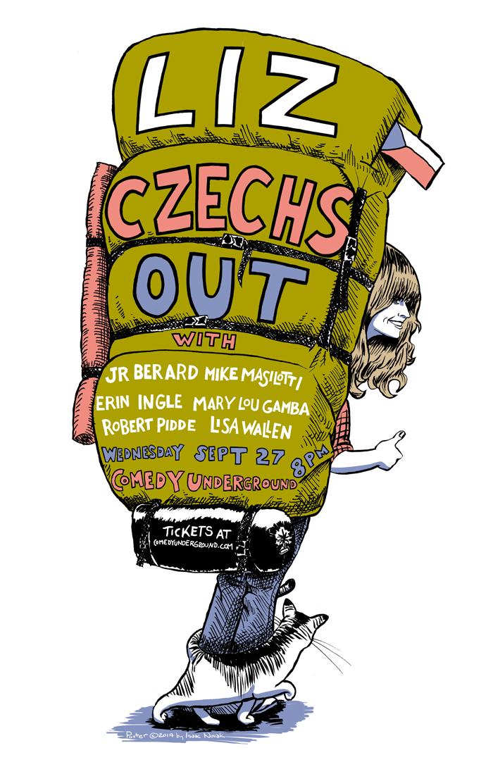 Liz Czechs Out