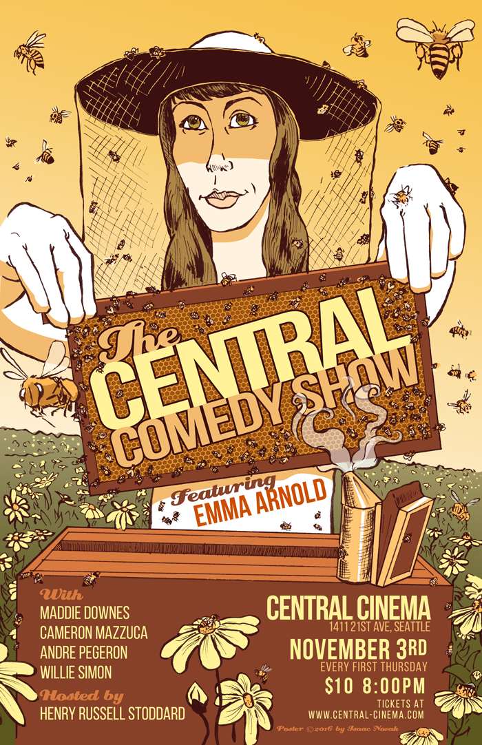 The Central Comedy Show Presents: Emma Arnold