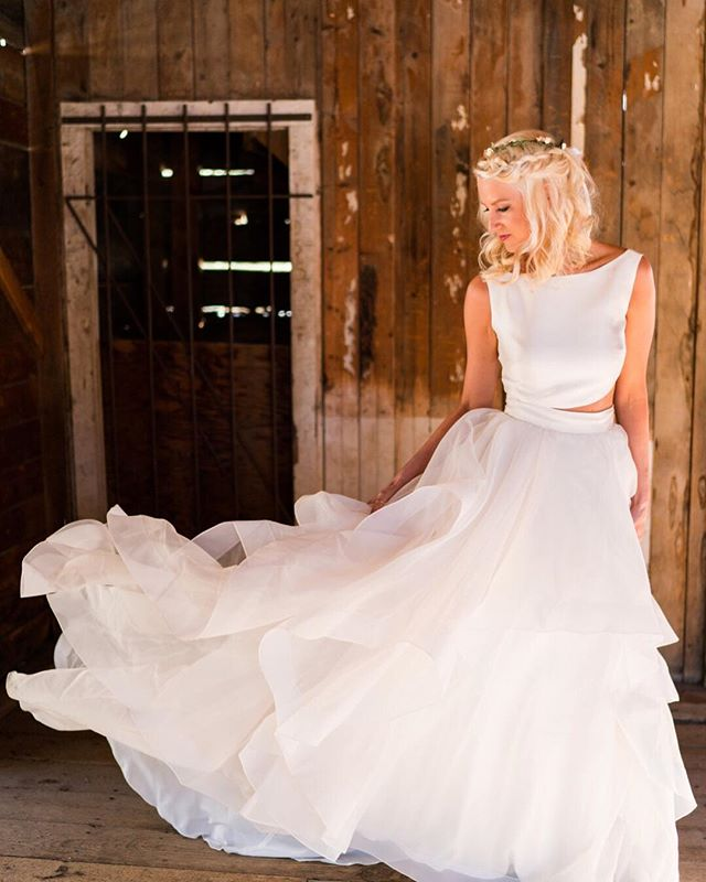 Mountains, ghost towns, and wedding gowns. #elopeinstead