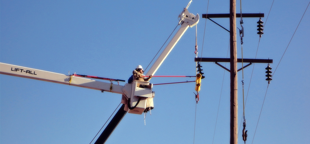 Project Highlight: Navajo Tribal Utility Authority Pole Changeouts