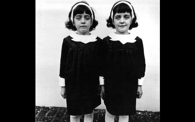 Diane Arbus, Identical Twins, Roselle, N.J, 1966