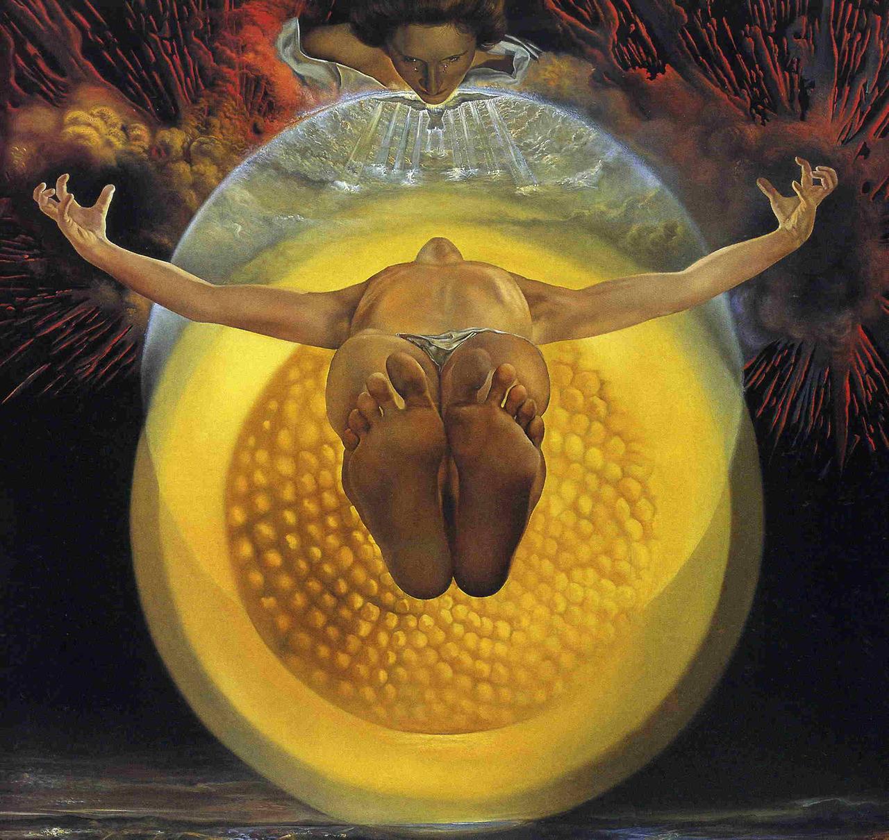 Salvador Dali, Ascension of Christ, 1958.