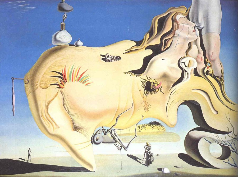 Salvador Dali, The Great Masturbator, 1929.