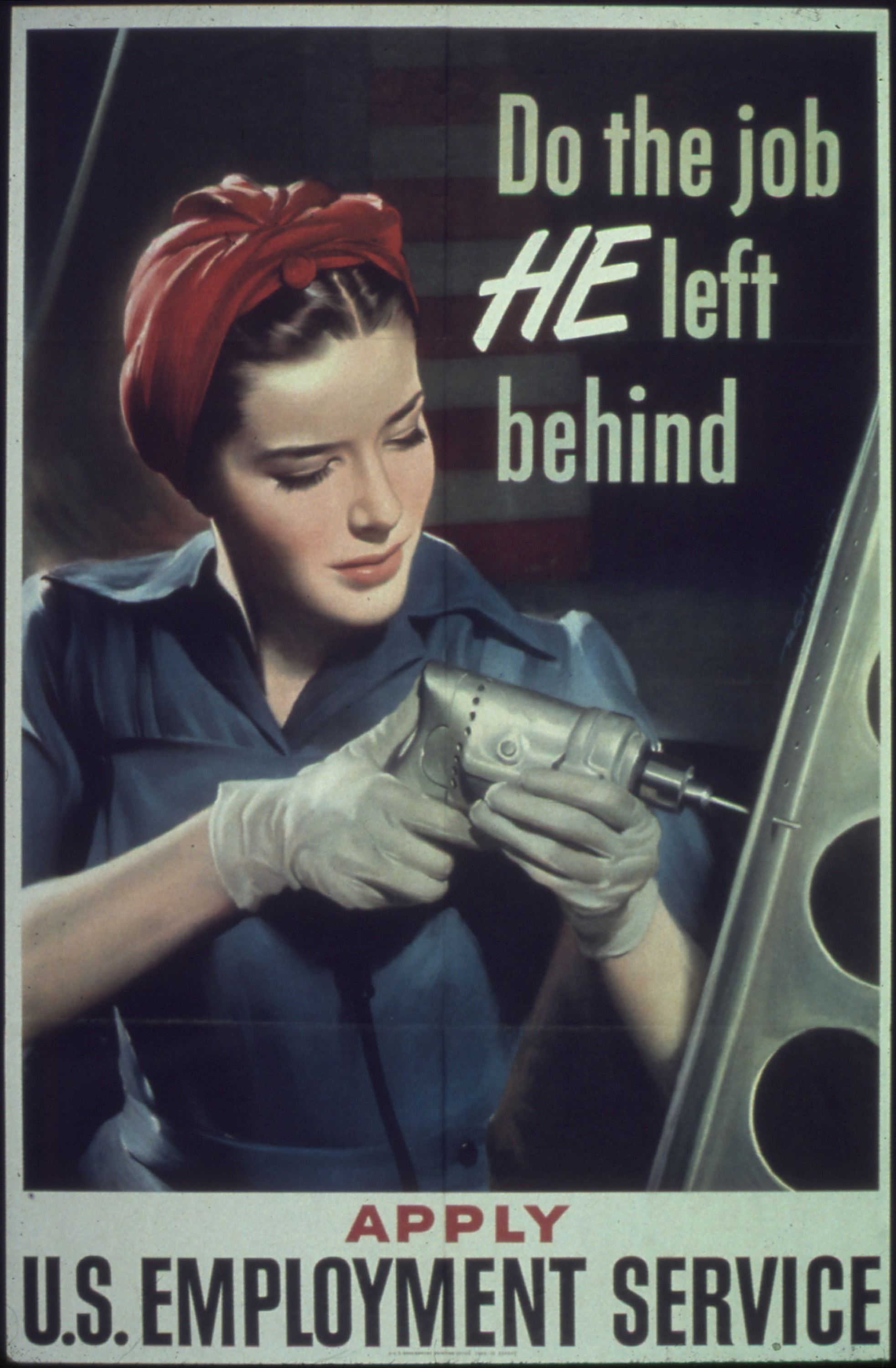 Hagley ID, Box/folder number, Women at work World War II posters (Accession 1994.263.1), Audiovisual Collections and Digital Initiatives Department, Hagley Museum and Library, Wilmington, DE 19807