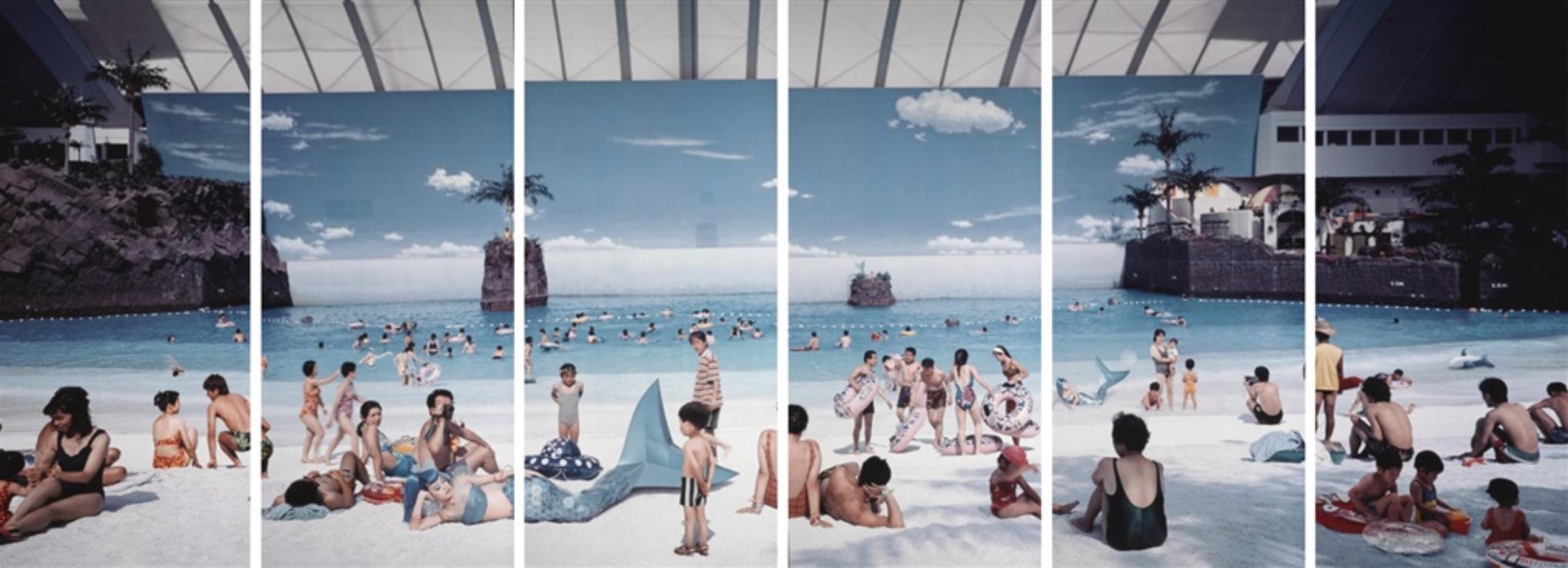 EMPTY DREAM , 1995, cibachrome, 273.1 x 121.9 cm. (107.5 x 48 in.)