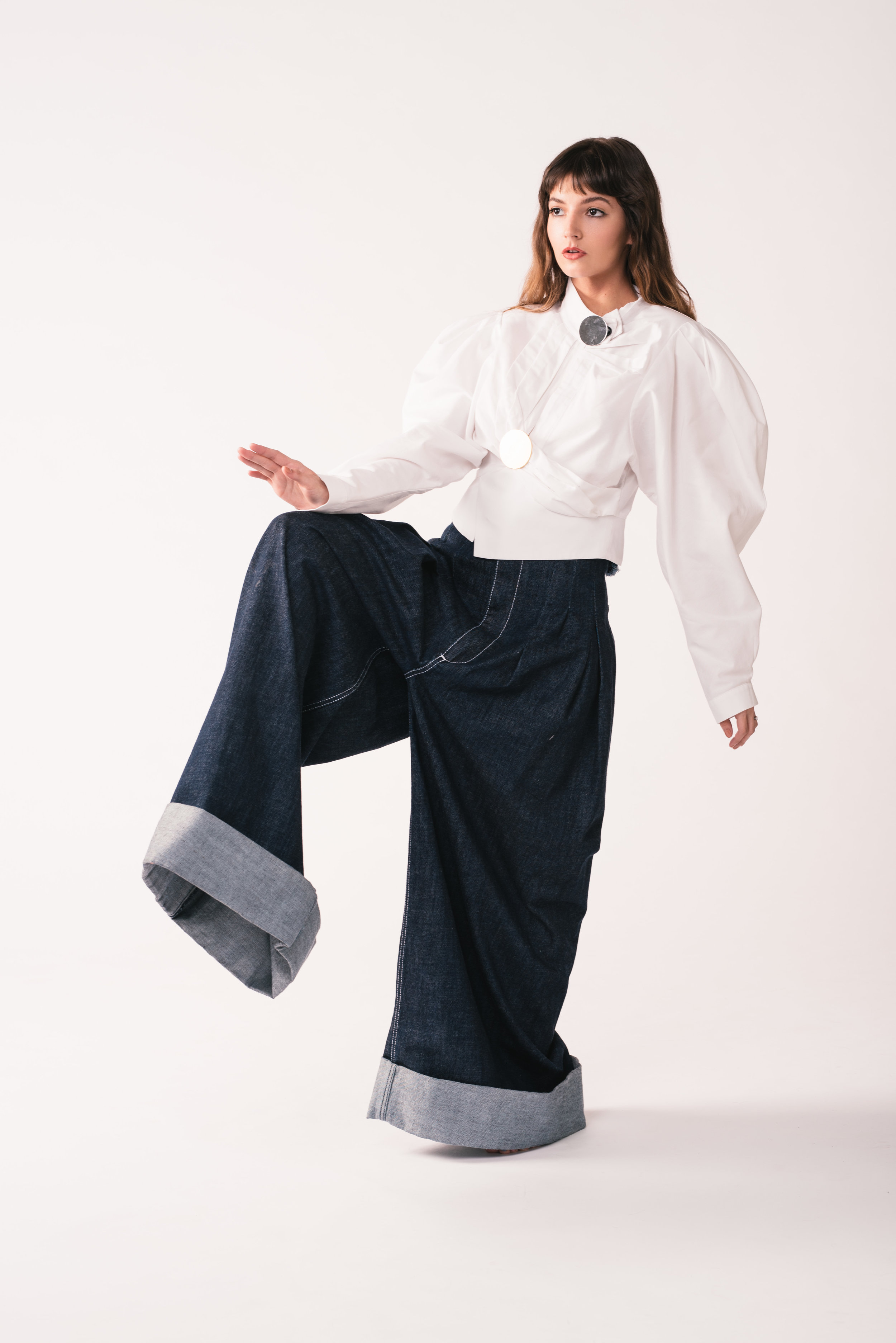 Shirt: Jacquemus  Pants: Jacquemus