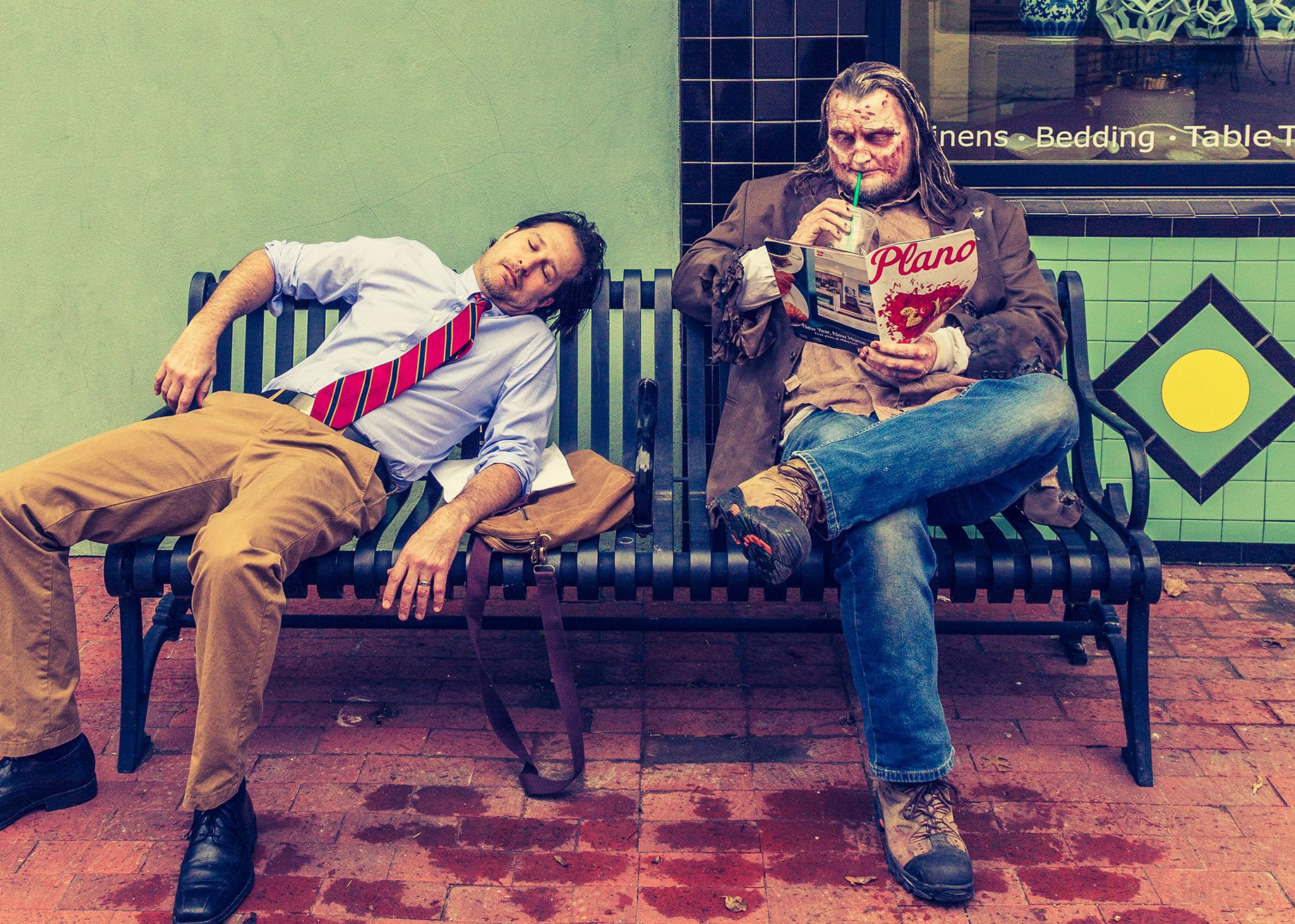 Zombie photos by Jennifer Shertzer