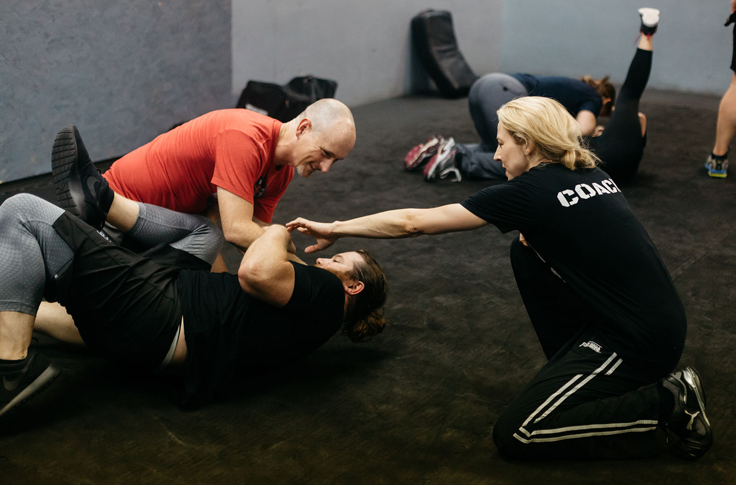 Becky Madison Kier, instructor at Krav Maga Dallas // photos by Emilee Prado