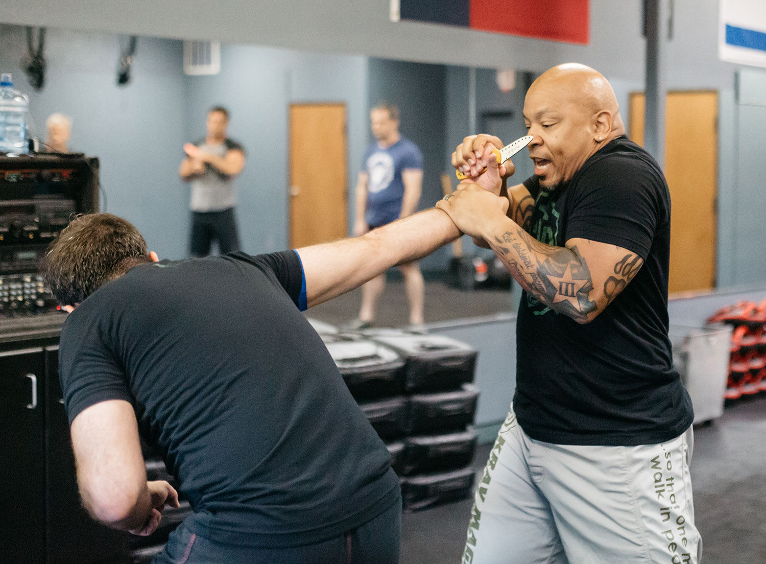 Erik Hicks, owner and instructor at Krav Maga Dallas