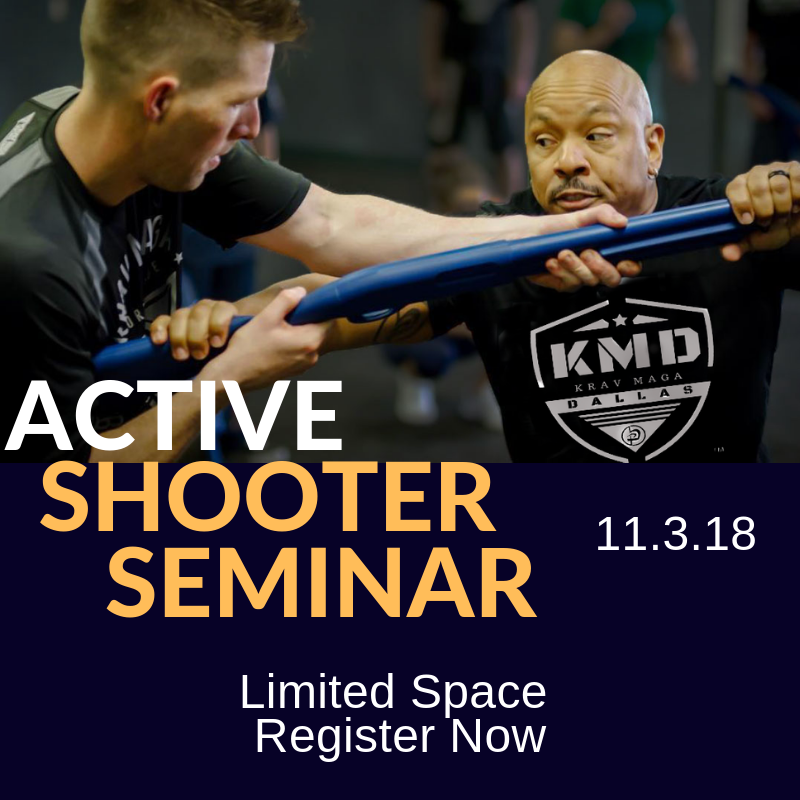 Register for our Active shooter Seminar on November 3rd. Click  HERE