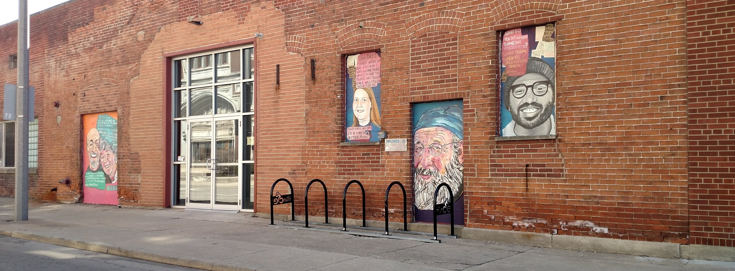 FaceMePorFavor Murals at Madjax (514 E. Jackson St.)