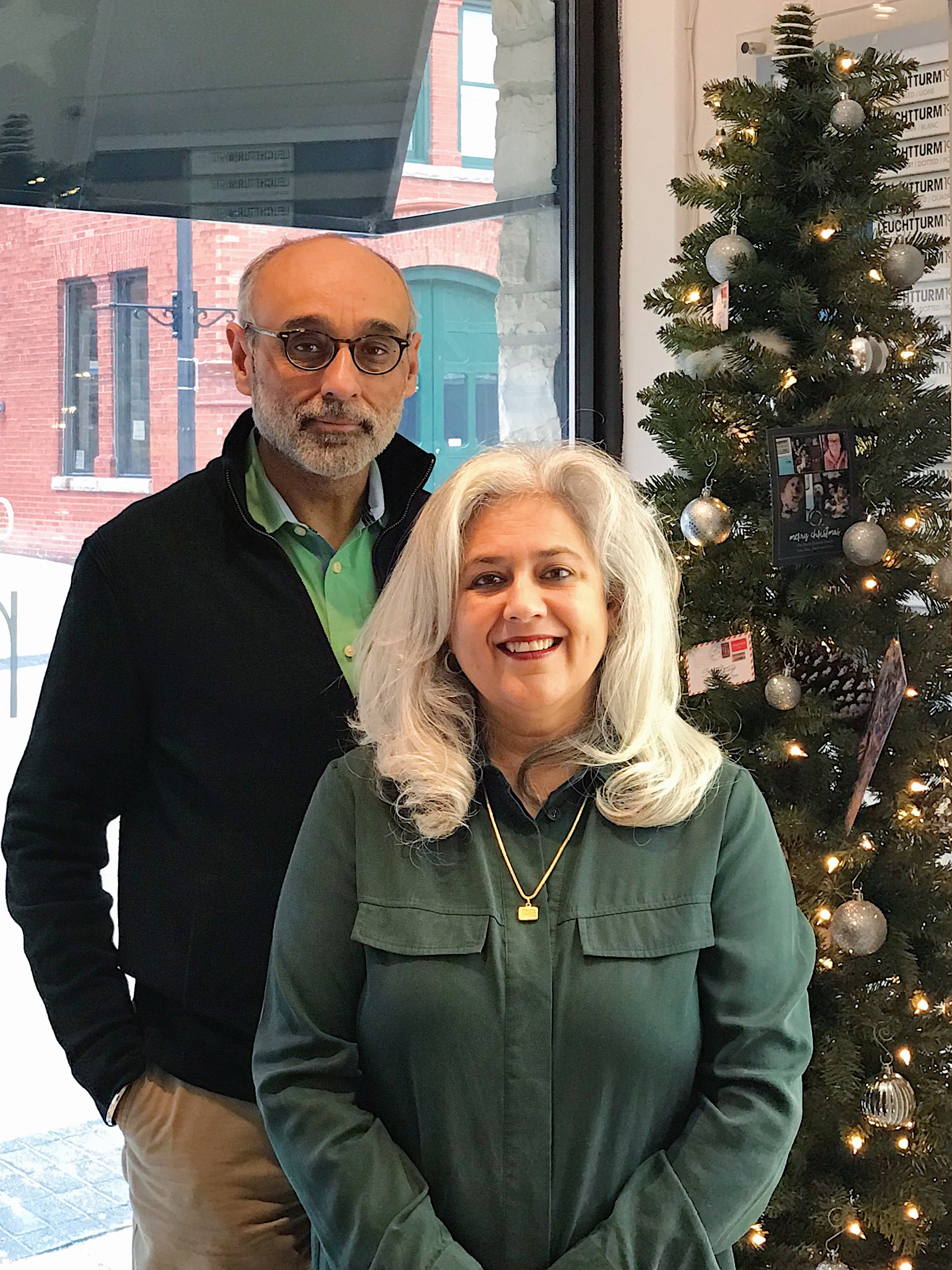 Happy greetings from Baldeep and I: We wish you all a safe and wonderful holidays season!