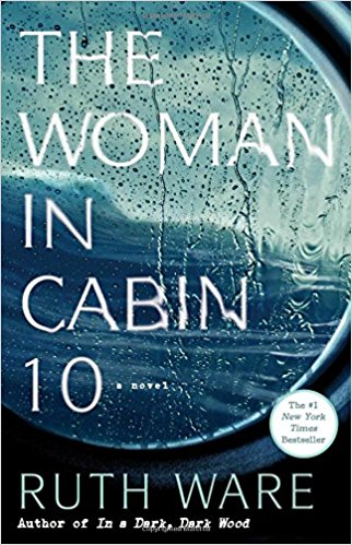 "The Woman in Cabin 10. - ""Lo Blacklock, a journalist who writes for a travel magazine, has just been given the assignment of a lifetime: a week on a luxury cruise with only a handful of cabins. At first, Lo's stay is nothing but pleasant as the exclusive cruise ship, the Aurora, begins her voyage in the picturesque North Sea. But as the week wears on, frigid winds ship the deck, gray skies fall, and Lo witnesses what she can only describe as a dark and terrifying nightmare: a woman being thrown overboard. The problem? All passengers remain accounted for--and so, the ship sails on as if nothing has happened, despite Lo's desperate attempts to convey that something has gone terribly wrong.""Beck recommended this book to me, and I absolutely LOVED it. It's one of those that you can finish in a day and completely draws you in. I love a thriller, so I highly recommend!"