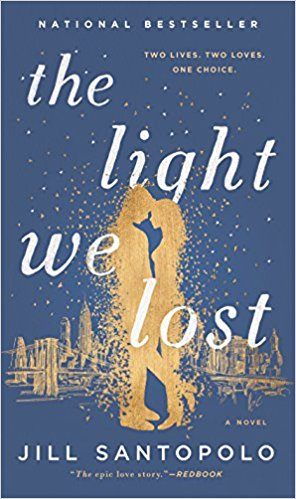 "All the Light We Lost. - ""Lucy is faced with a life-altering choice. But before she can make her decision, she must start her story—their story—at the very beginning.Lucy and Gabe meet as seniors at Columbia University on a day that changes both of their lives forever. Together, they decide they want their lives to mean something, to matter. When they meet again a year later, it seems fated—perhaps they'll find life's meaning in each other. But then Gabe becomes a photojournalist assigned to the Middle East and Lucy pursues a career in New York. What follows is a thirteen-year journey of dreams, desires, jealousies, betrayals, and, ultimately, of love. Was it fate that brought them together? Is it choice that has kept them away? Their journey takes Lucy and Gabe continents apart, but never out of each other's hearts.This devastatingly romantic debut novel about the enduring power of first love, with a shocking, unforgettable ending, is Love Story for a new generation.""This is another one of my favorite books I've read all year. This story really struck a chord and made me feel the emotion of the author. I would recommend this to anyone - it's truly beautiful (and a tear-jerker!)"