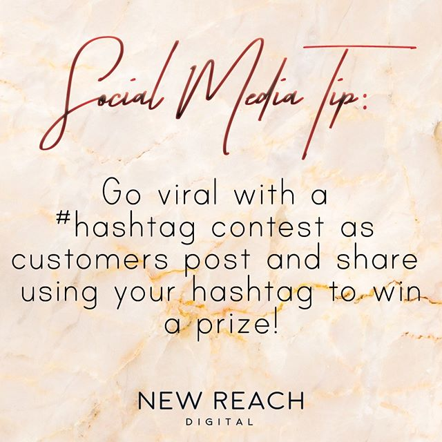 Everyone LOVES to win! While not EVERYONE can win, who wouldn't want to try their luck?! Going viral is not easy but one way to achieve viral-ability is by posting an enticing offer for your customers and requiring them to share the post including your branded hashtag AND tagging your brand on their re-post. This encourages engagement and increases your chances of going viral. . . . . . . . . . . . . . .  #socialmedia #scoialmediatip #digitalmarketing #marketing #digitalmarketingtip #marketingtip #socialtip #viral #viralmarketing #business #businesstip #inspiration #webdesign #designer #digital #entrepreneur #entrepreneurtip #win #socialmediamarketing #socialmediatips #socialmediastrategy #socialmediamanager #socialmediamanagement #socialmediamarketingtips #socialmediaagency #socialmediaexpert #socialmediatraining #socialmediastrategist #socialmediacoach #socialmediaguru