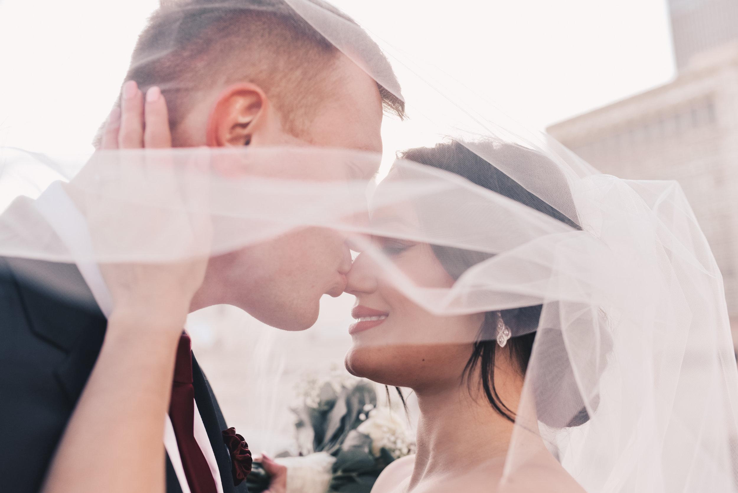 Millennium Park Wedding Photos, Millennium Park, Chicago Bride and Groom Photos, Chicago Wedding Photographer