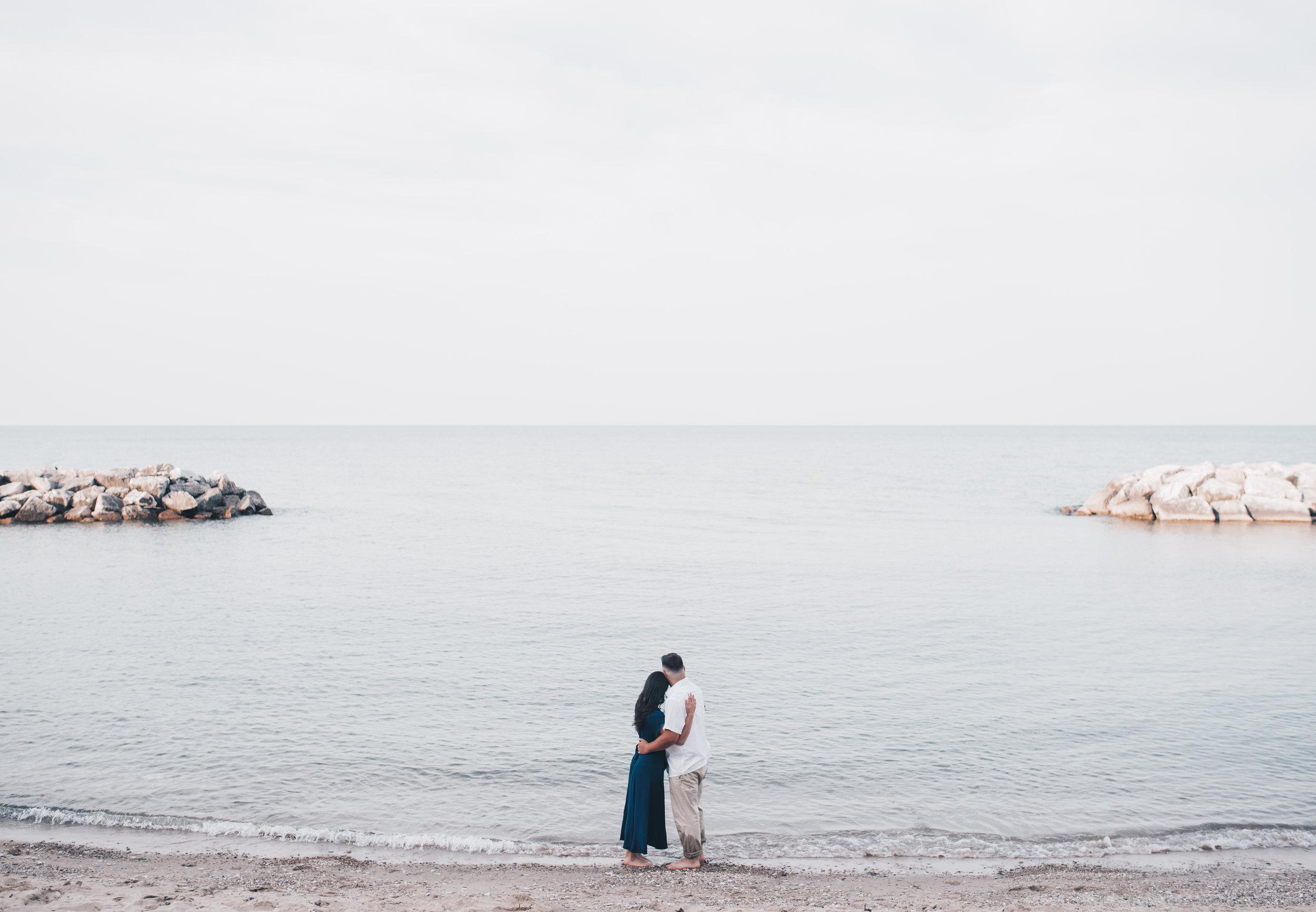 Rosewood Beach, Highland Park, Rosewood Beach Engagement, Chicago Engagement Photographer, Chicago Beach Engagement