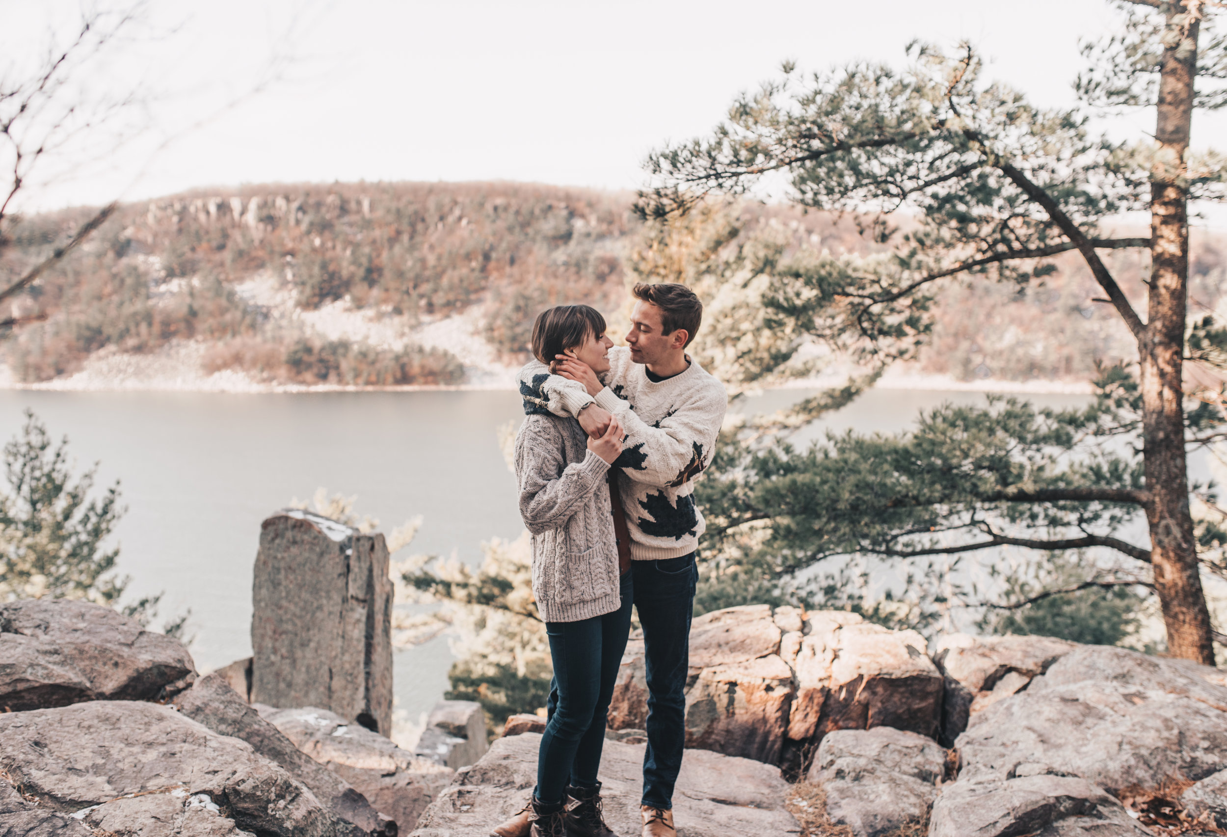 Devils Lake State Park Session, Devils Lake State Park Engagement Photographer, Devils Lake State Park Photographer, Devils Lake State Park Elopement, Devils Lake State Park Wedding Photographer