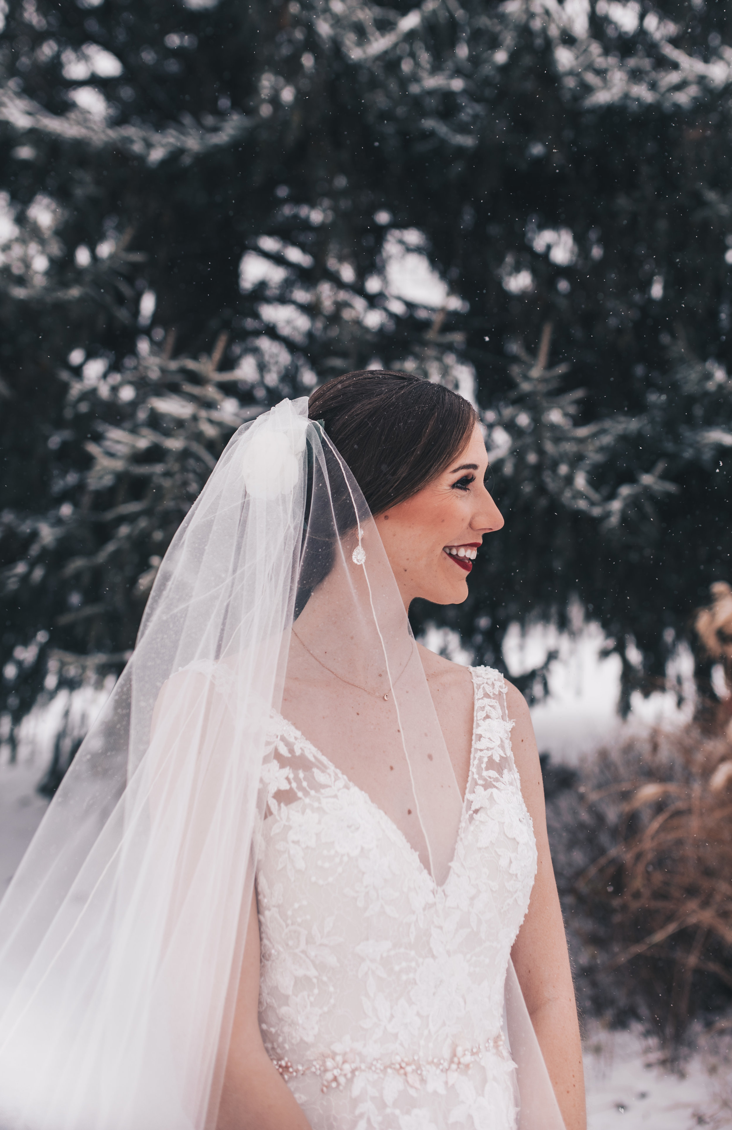 Winter Wedding, Chicago Winter Wedding, Chicago Wedding Photographer, Illinois Wedding, Illinois Wedding Photographer, Classy Modern Wedding, First Look Photos, Bride And Groom Photos