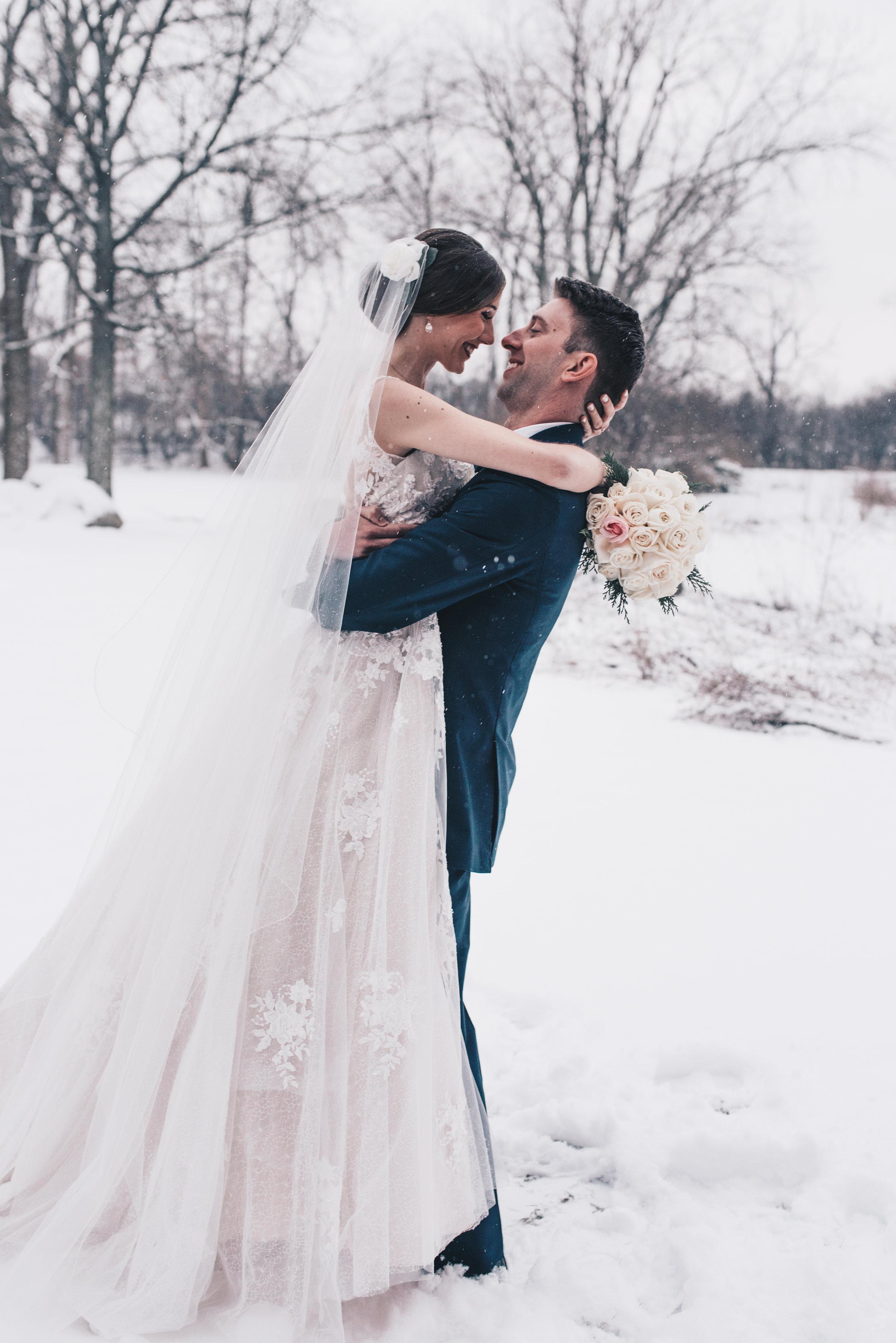 Winter Wedding, Chicago Winter Wedding, Chicago Wedding Photographer, Illinois Wedding, Illinois Wedding Photographer, Classy Modern Wedding, Bride and Groom Photography, Bride and Groom Photos