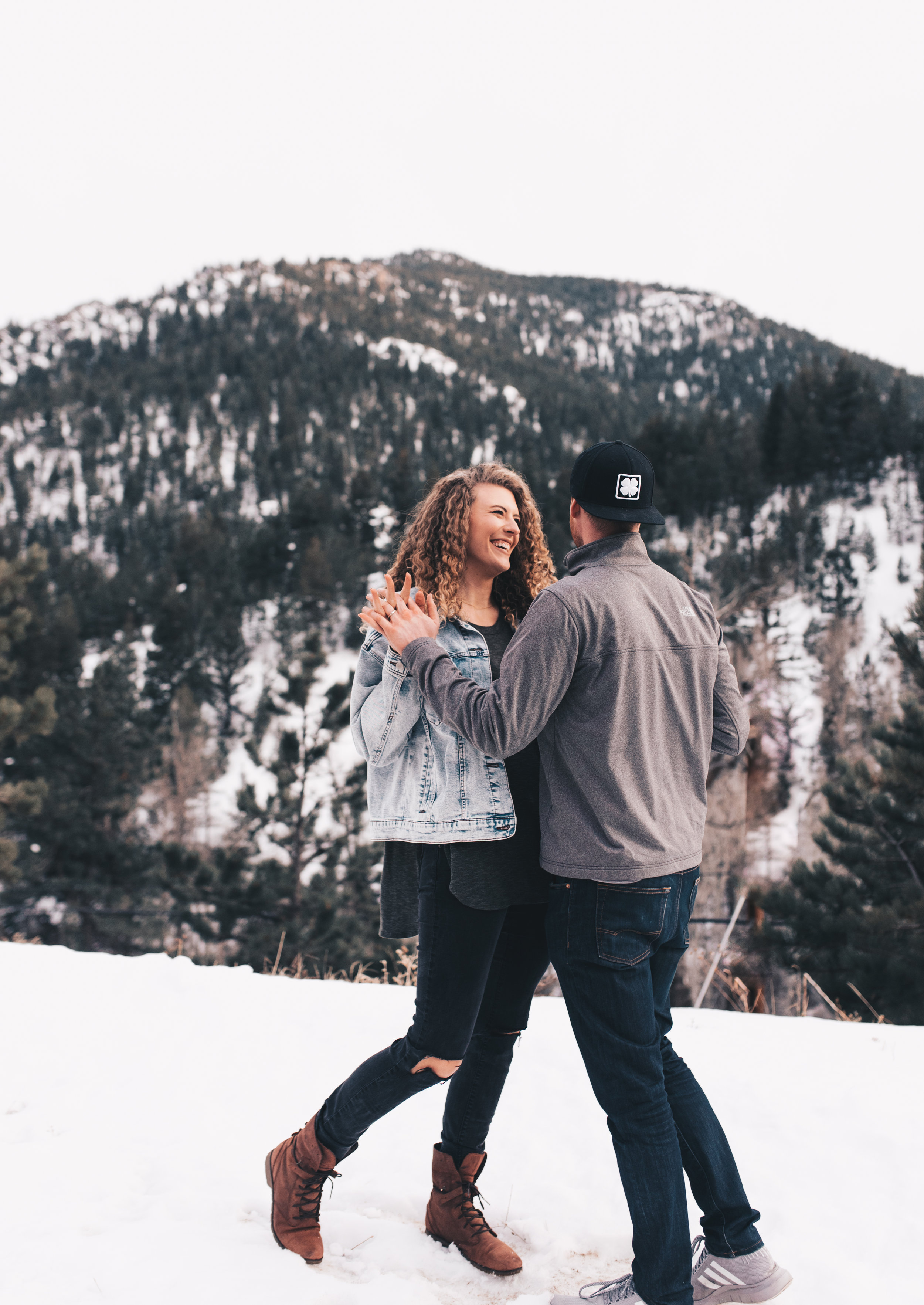 Adventurous Couples Session, Adventurous Mountain Couples Photos, Boulder Elopement Photographer, Boulder Wedding Photographer, Boulder Couples Photos, Colorado Elopement Photographer