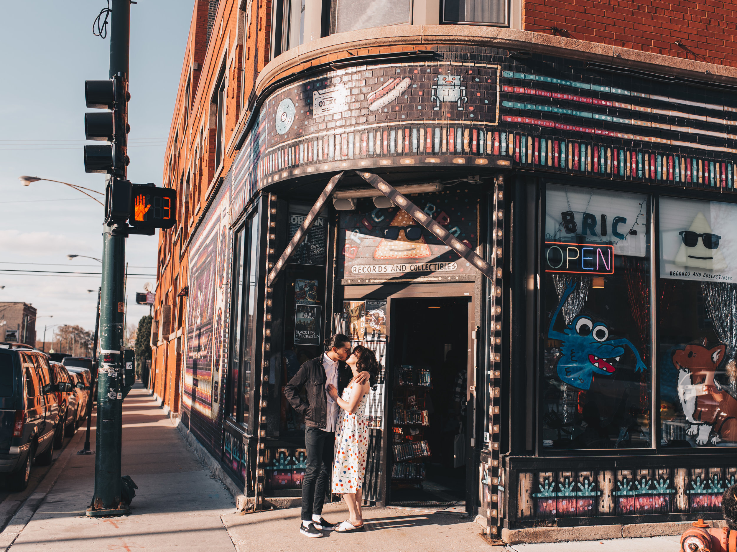 Logan Square Couples Photos, Logan Square Engagement, Logan Square Engagement Photographer, Chicago Elopement Photographer, Chicago Engagement Session, Chicago Engagement Photos