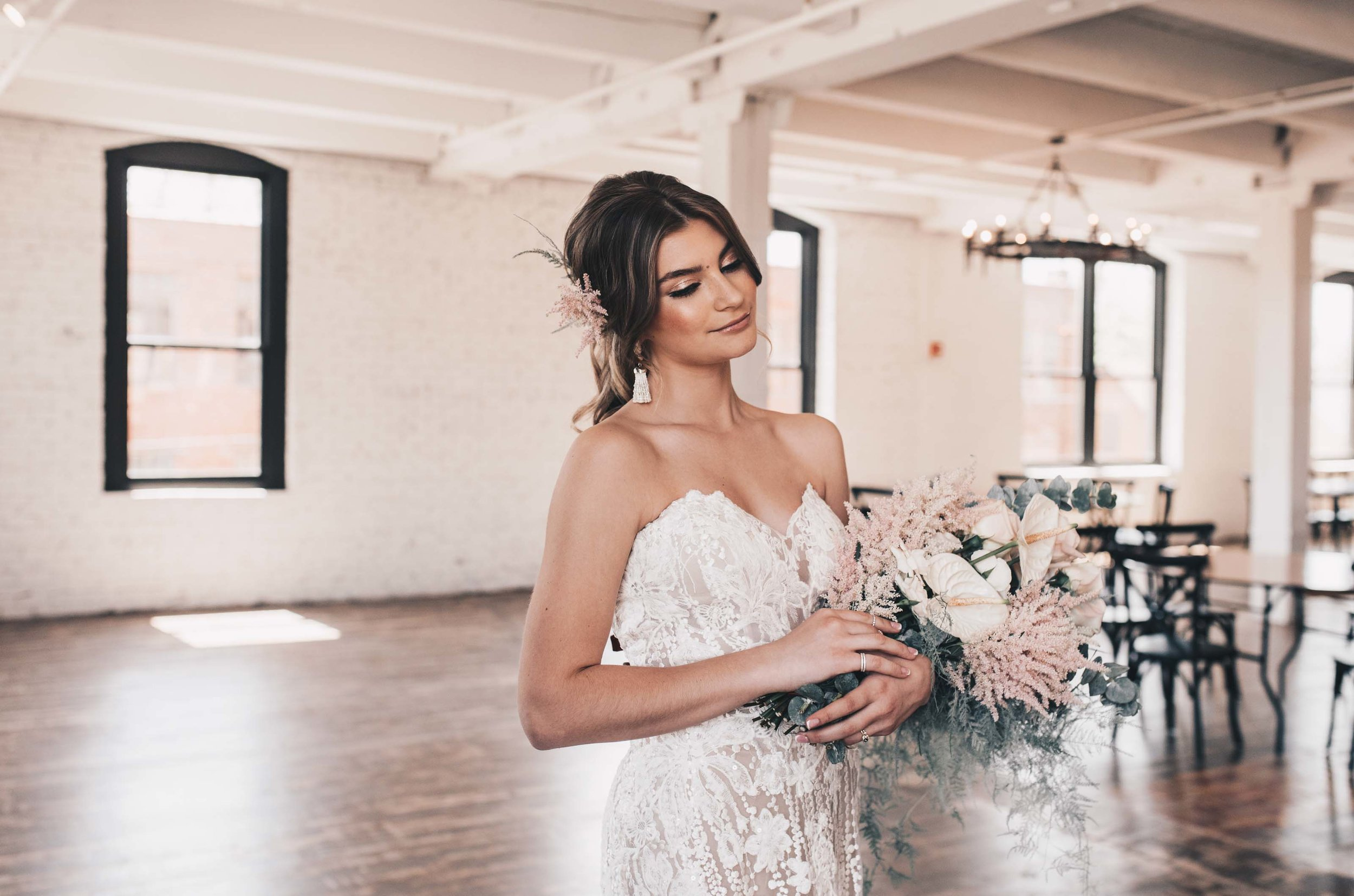 Boho Bride, Industrial Wedding, Company 251 Wedding, Bride Photos, Modern Bride, Midwest Bride, Romantic Rustic Wedding, Wedding Decor, Wedding Dress, Boho Wedding