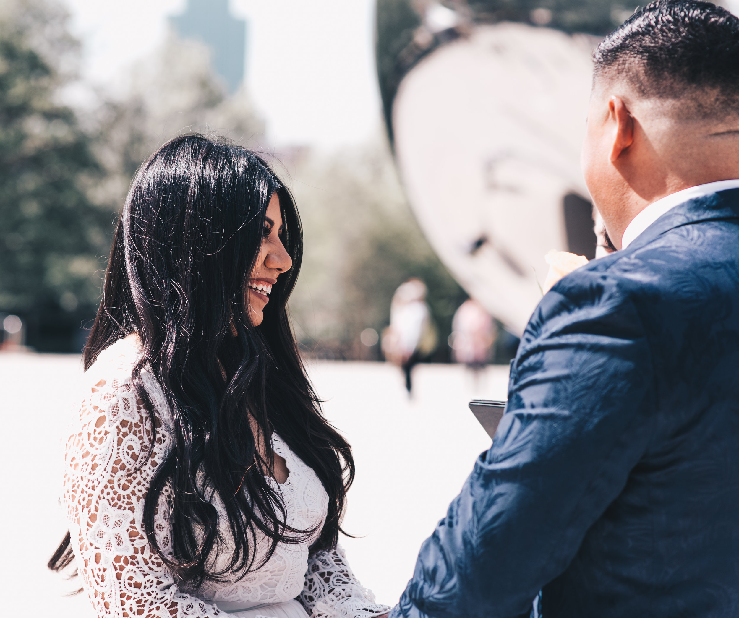 Chicago Elopement, Millennium Park Ceremony, Intimate Elopement, Destination Elopement, Bride and Groom Photos, Adventurous Elopement, Chicago Elopement Photographer