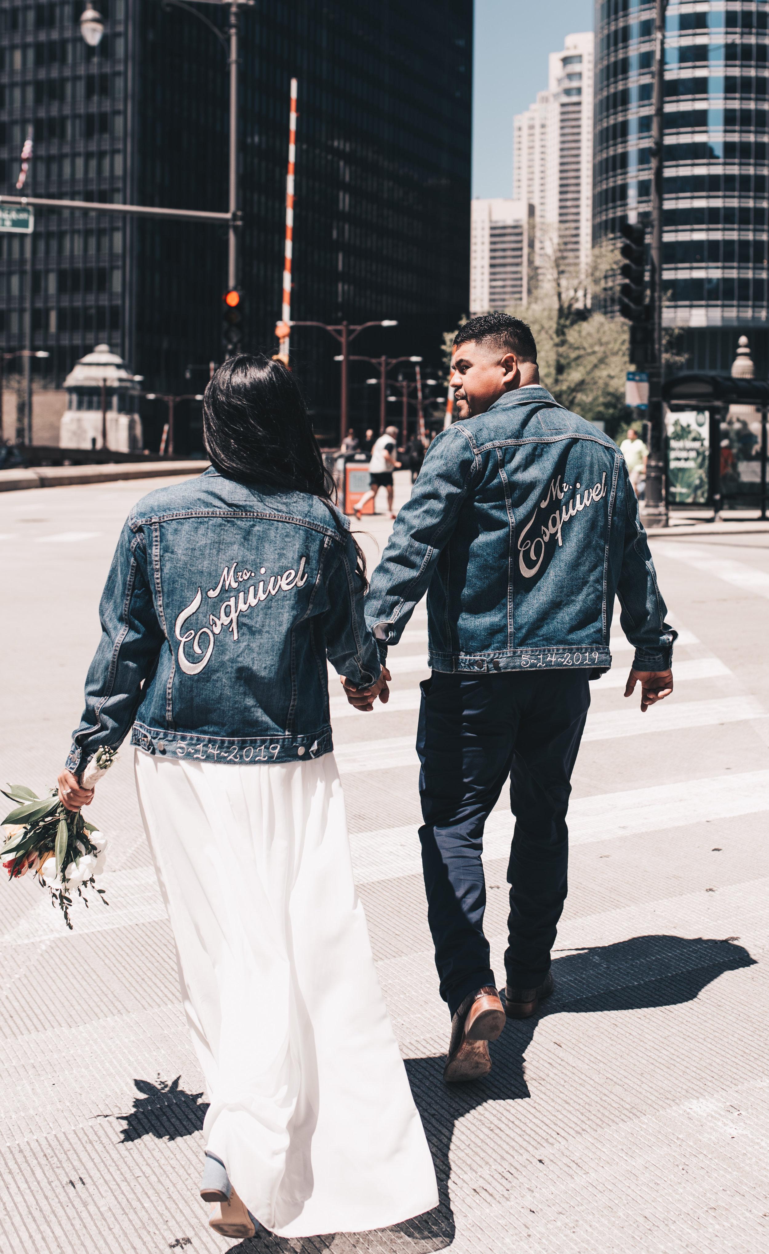 Chicago Elopement, Millennium Park Ceremony, London House Chicago, Destination Elopement, Bride and Groom Photos, Adventurous Elopement, Chicago Elopement Photographer