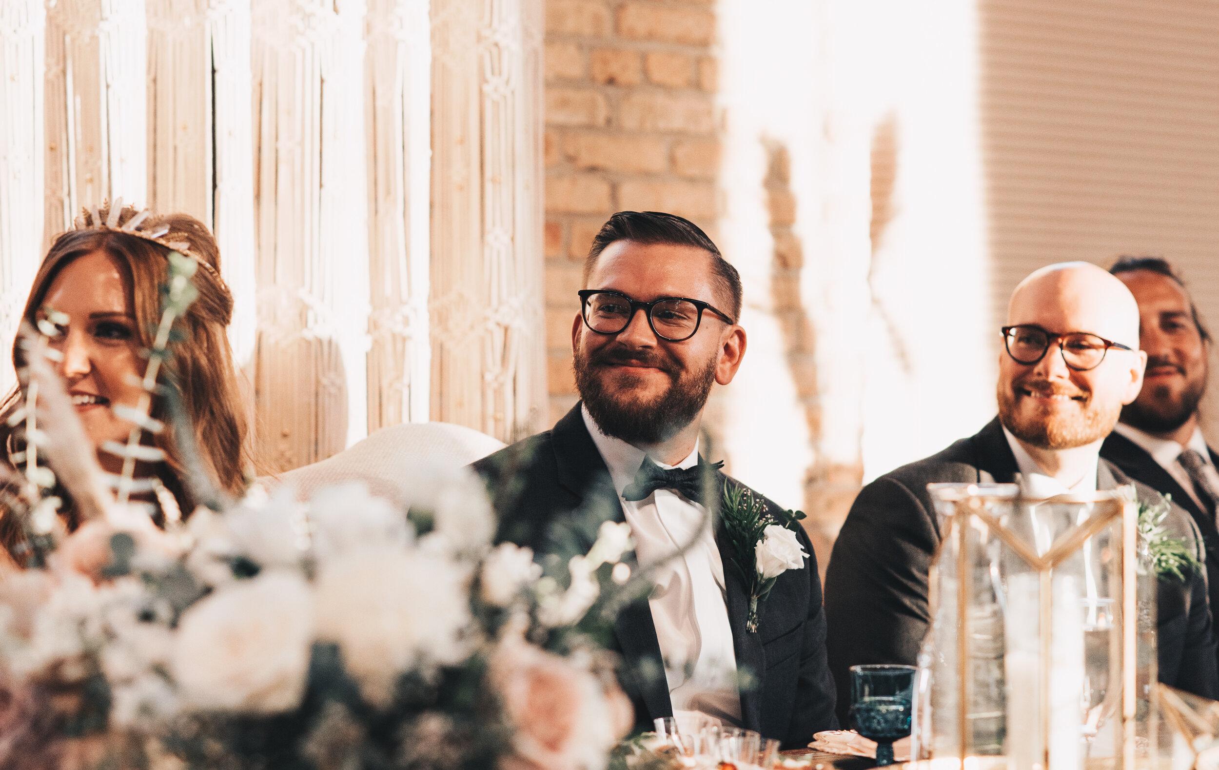 Modern Industrial Wedding, The Brix on the Fox, The BRIX, Chicago Industrial Wedding, Modern Midwest Wedding, The Brix on the Fox Wedding, The BRIX Wedding, Wedding Speeches Photos