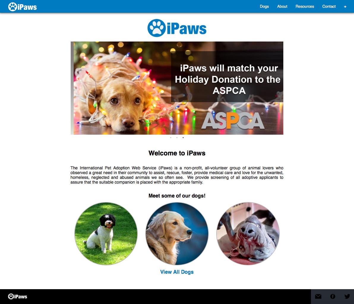 iPaws Screenshot