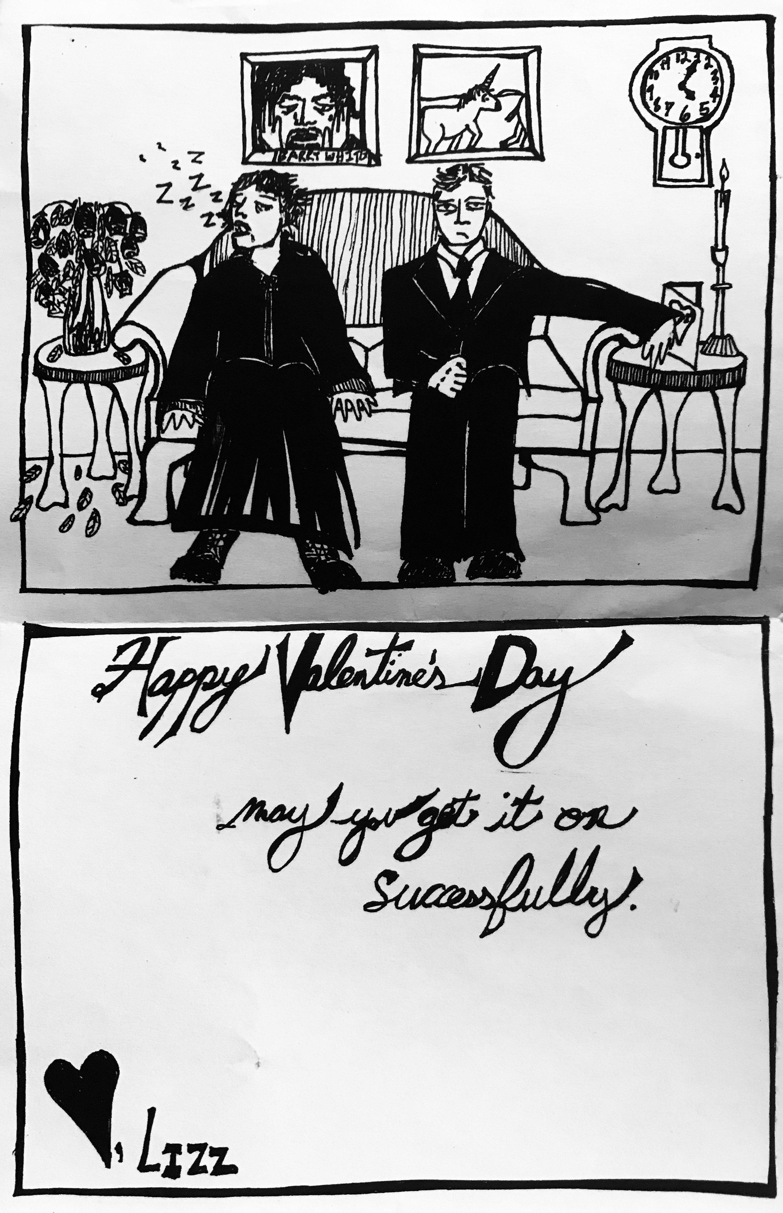Valentine's Day Card (2005) / Full Panel