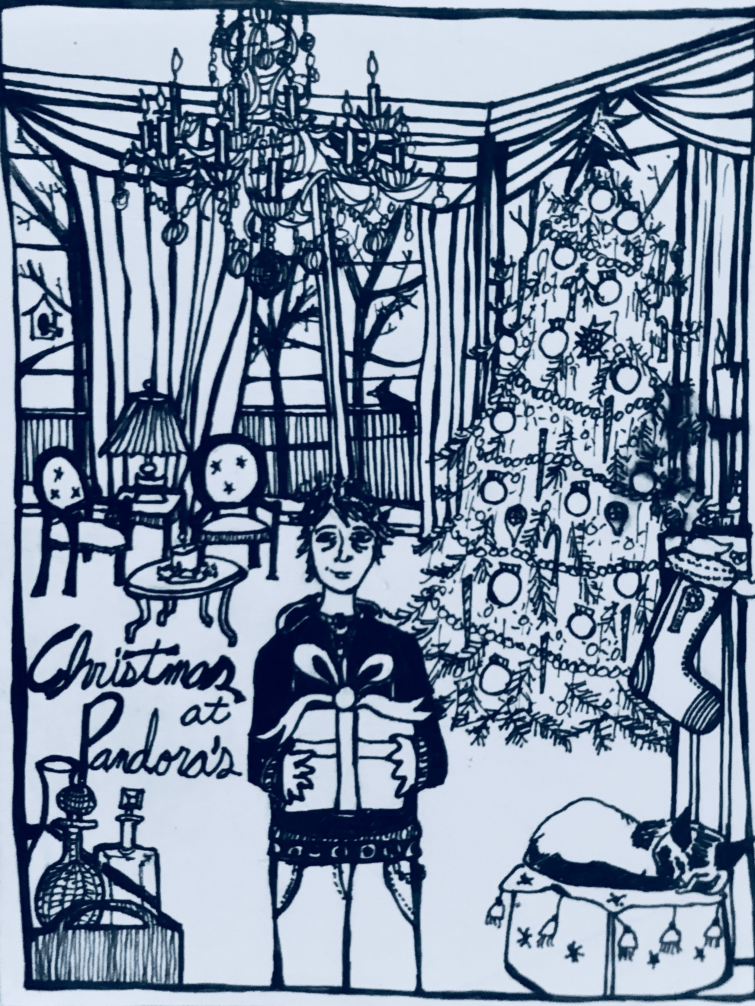 Christmas Card (2004) / Front Panel