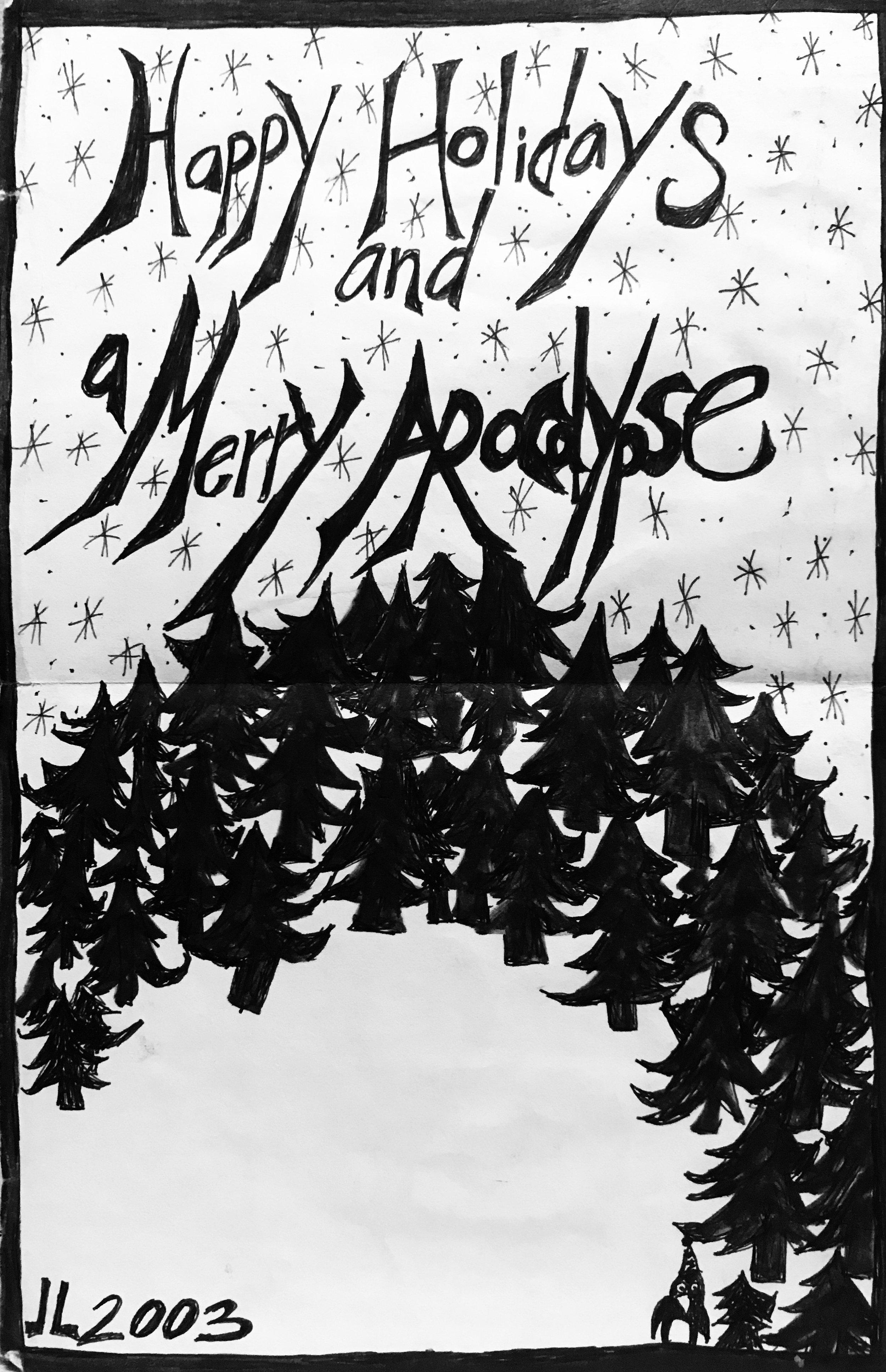 Christmas Card (2003) / Inside Panel