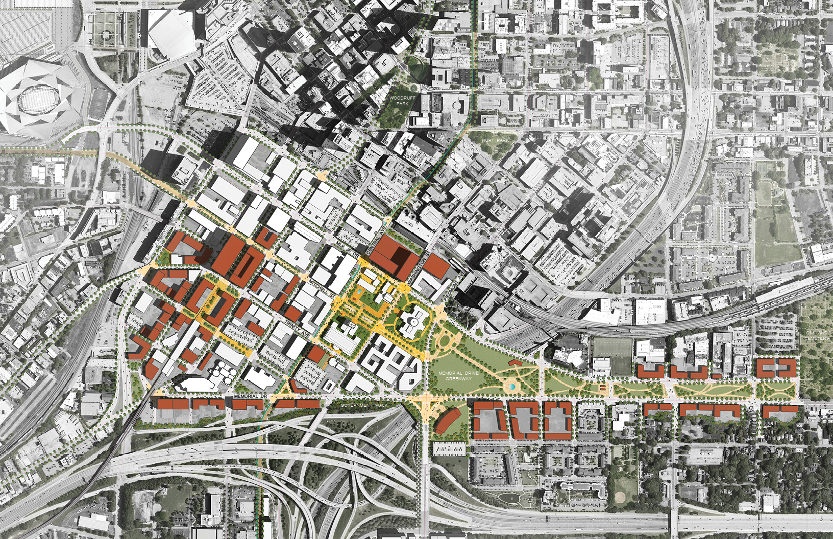 Government District master plan