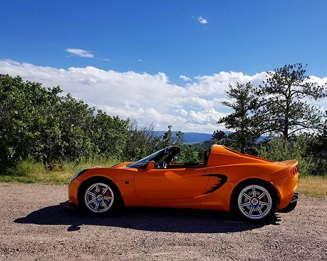 Chrome orange in Colorado sunlight.